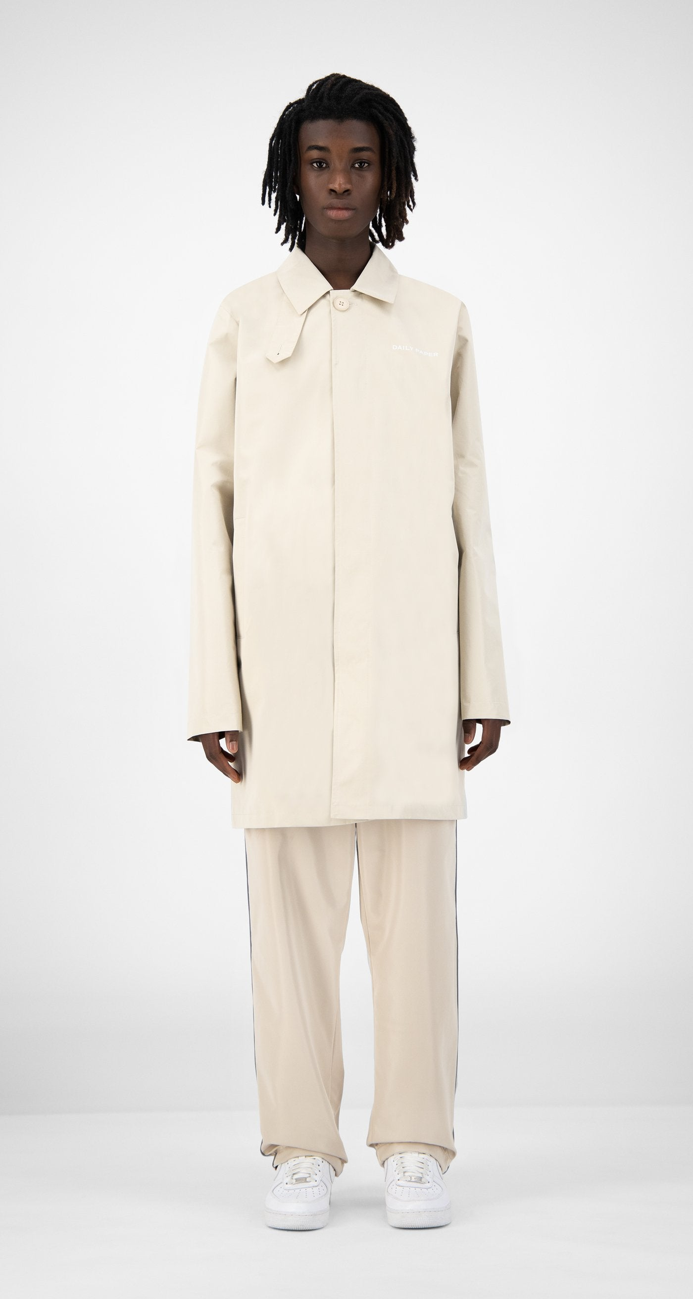 Daily Paper - Beige Emad Jacket - Men Front