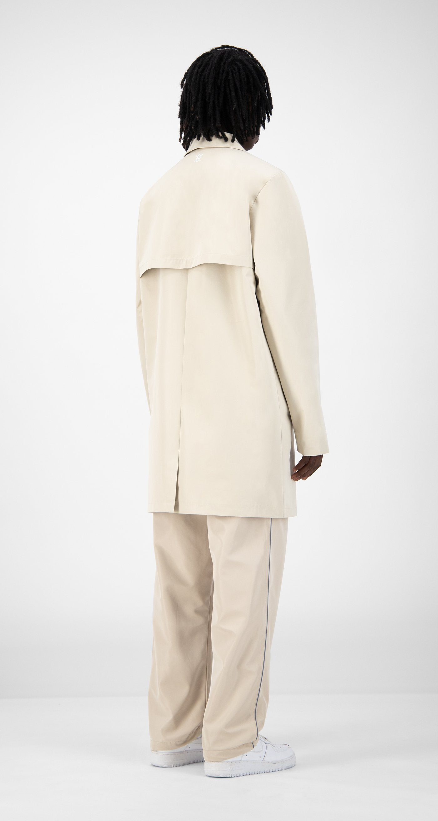 Daily Paper - Beige Emad Jacket - Men Rear