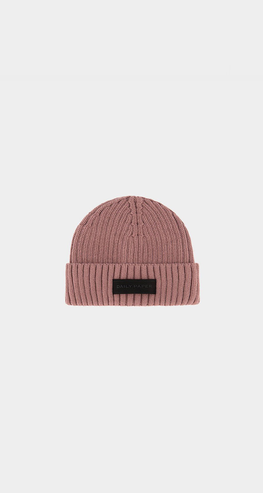 Daily Paper - Mauve Pink Essential Beanie - Front
