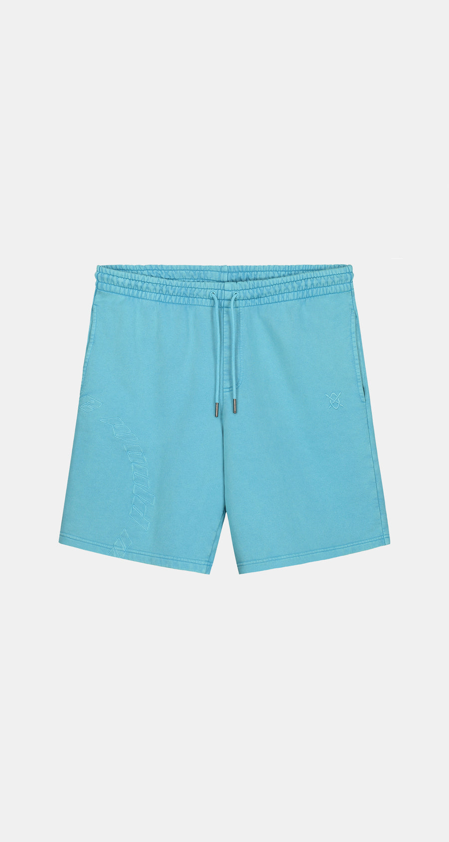 Daily Paper - Swedish Blue Kacid Shorts - Men Front
