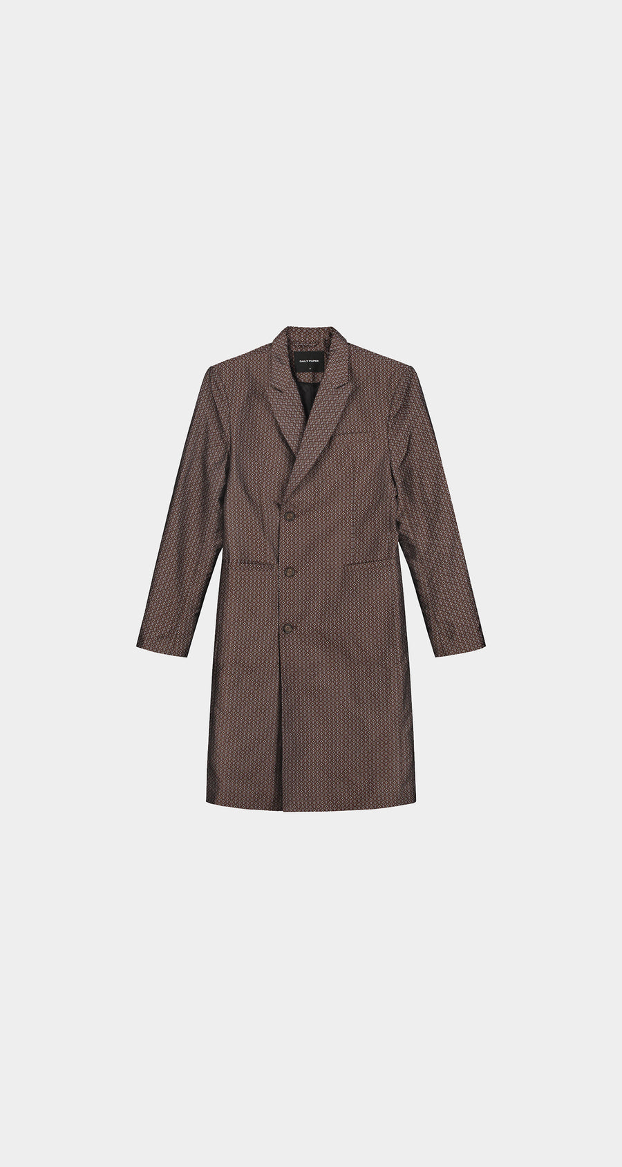 Daily Paper - Brown Kayson Coat - Men Front