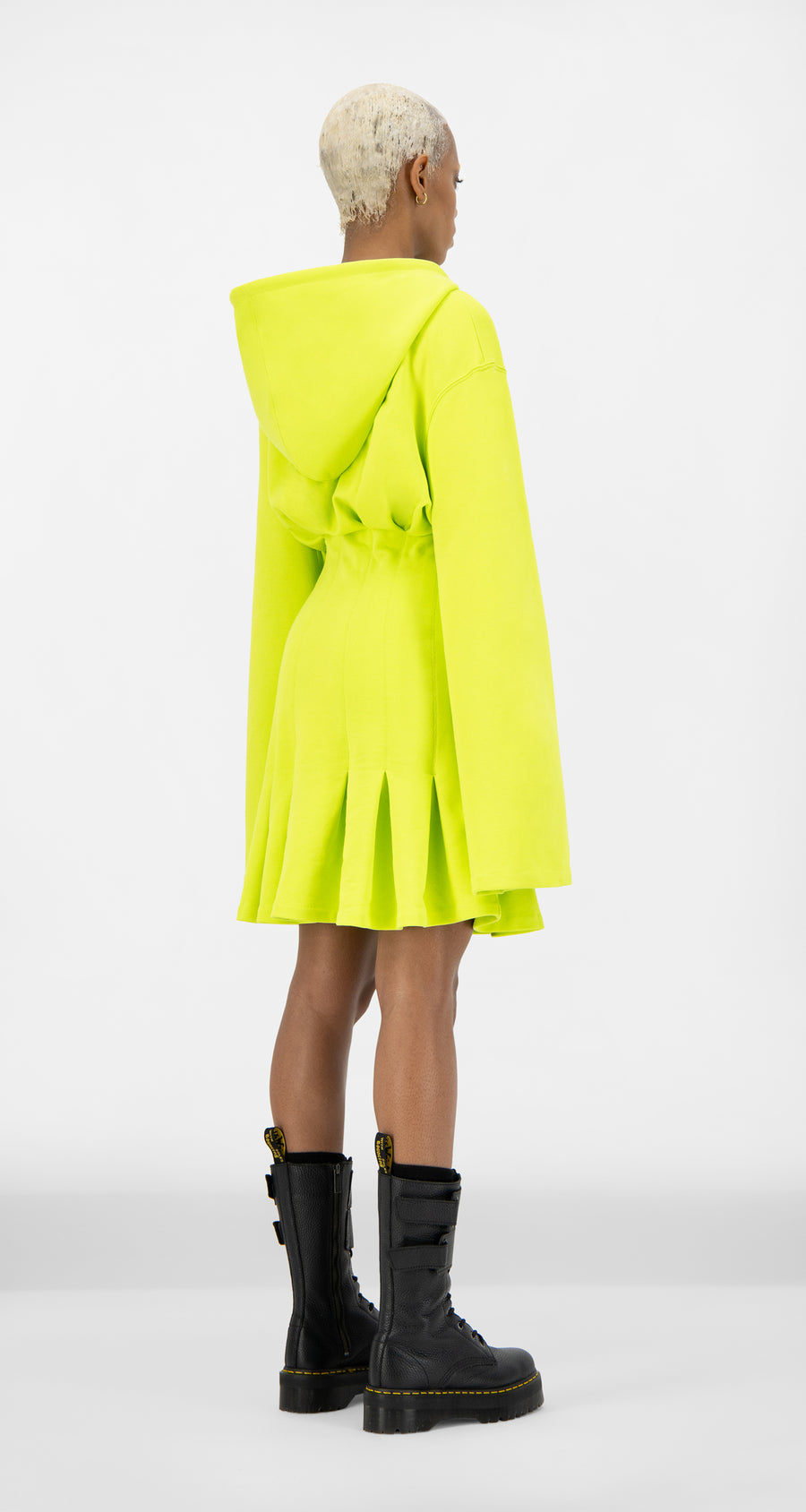 Daily Paper - Acid Lime Jelotie Dress - Women Rear