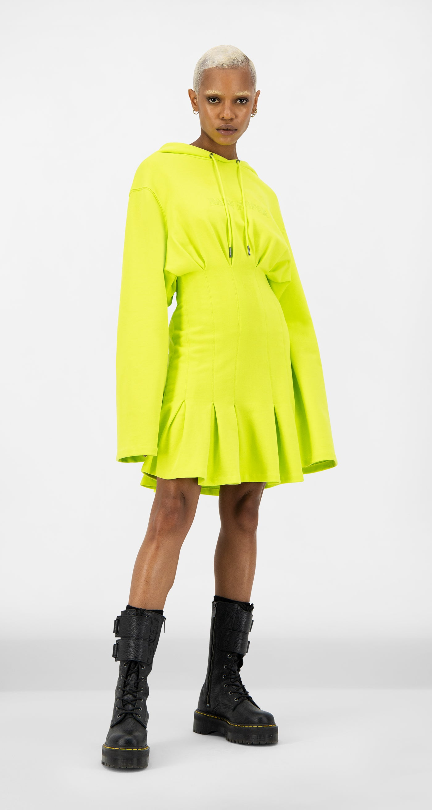 Daily Paper - Acid Lime Jelotie Dress - Women Front