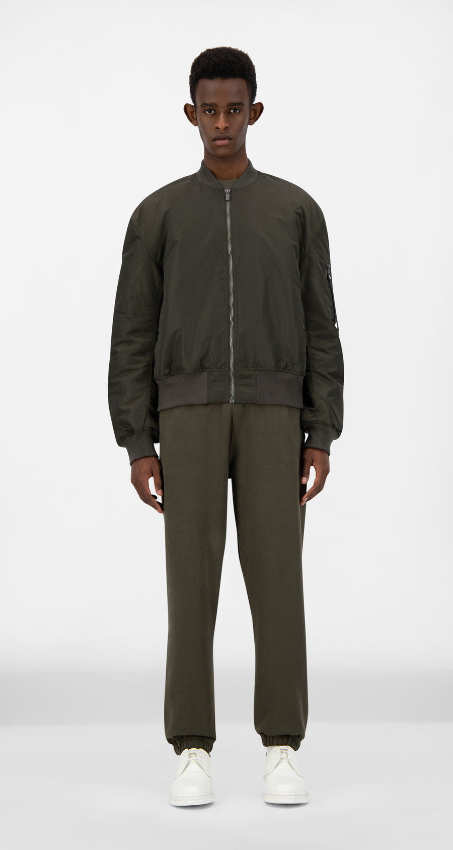 Daily Paper - Forest Green Ebomb Jacket - Men Front