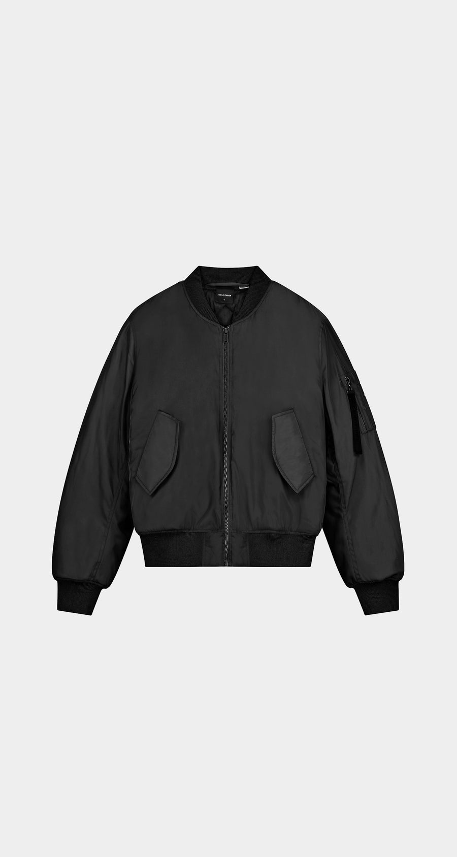 Daily Paper - Black Ebomb Jacket - Men Front