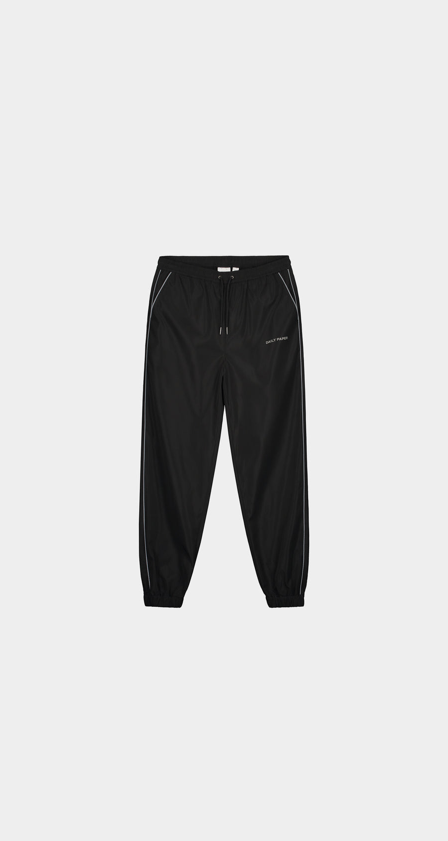 Daily Paper - Black Etrack Pants - Men Front
