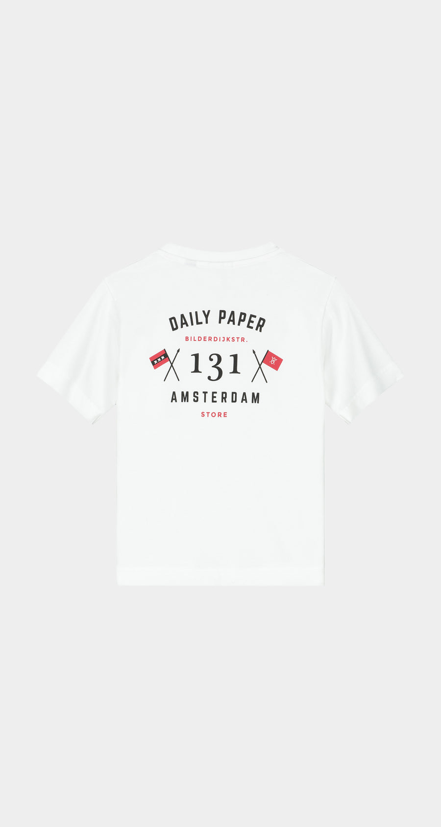 Daily Paper - White Kids Amsterdam Store T-Shirt NEW - Rear