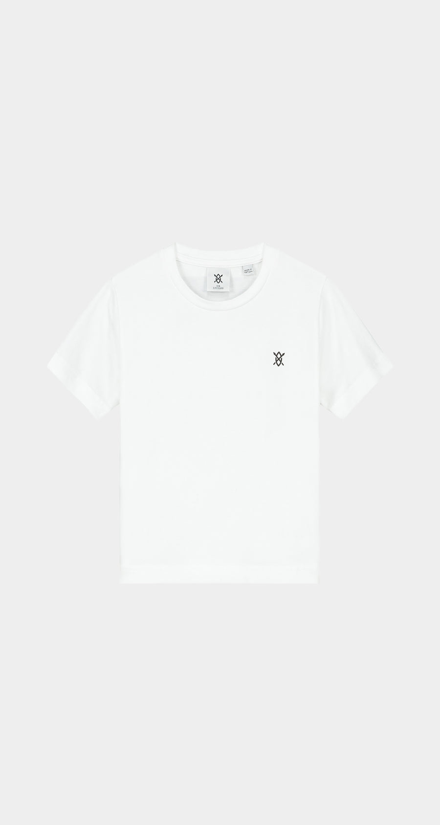 Daily Paper - White Kids Amsterdam Store T-Shirt NEW - Front
