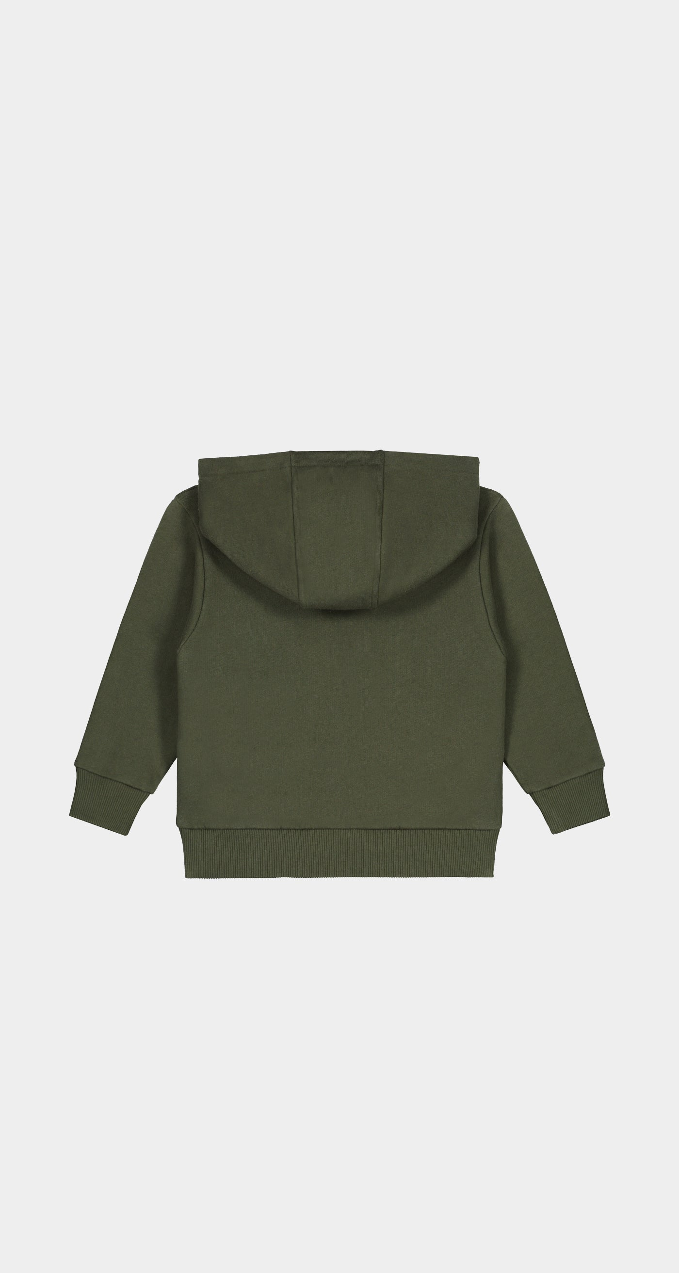Daily Paper - Forest Green Kids Alias Hoody - Rear