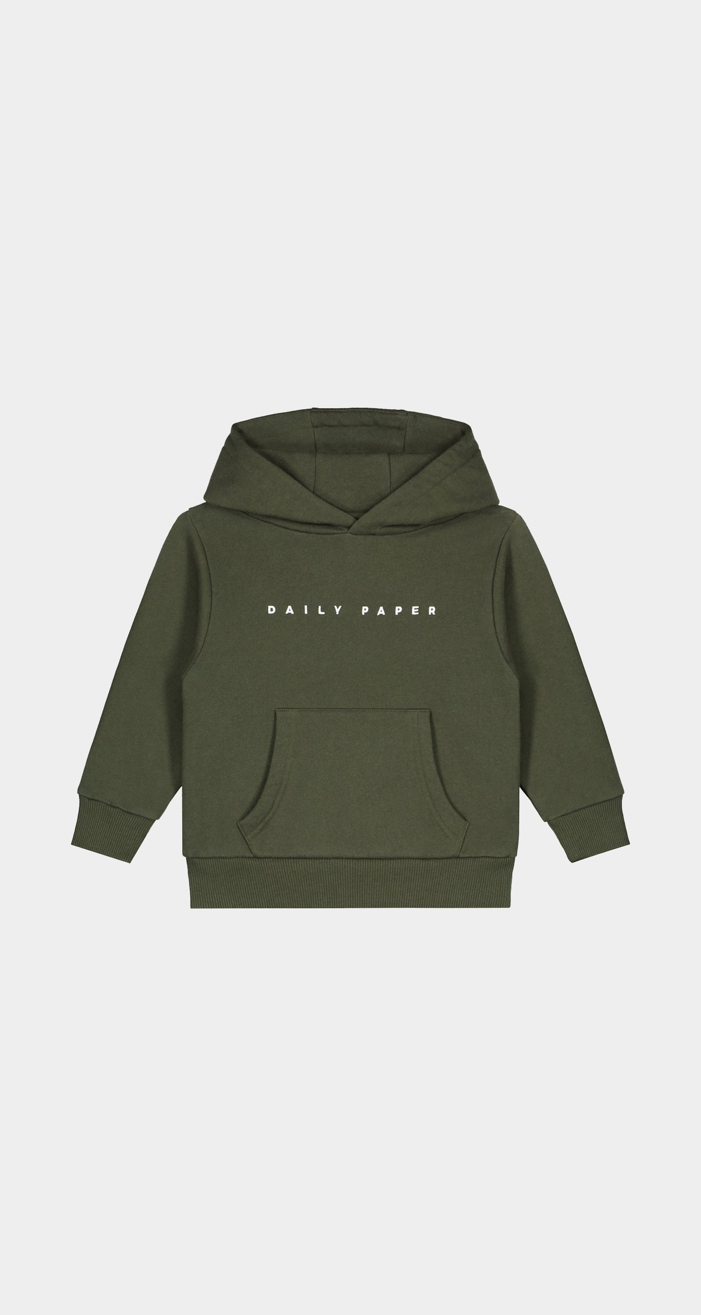 Daily Paper - Forest Green Kids Alias Hoody - Front