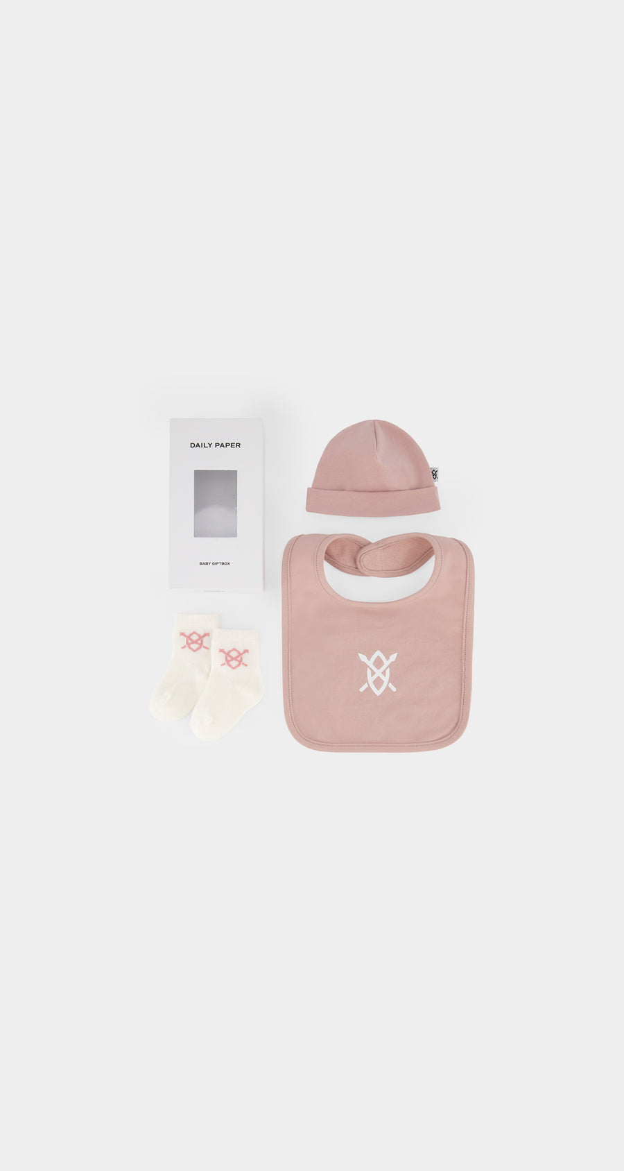 Daily Paper - Pink Mauve Baby Gift Box - Front