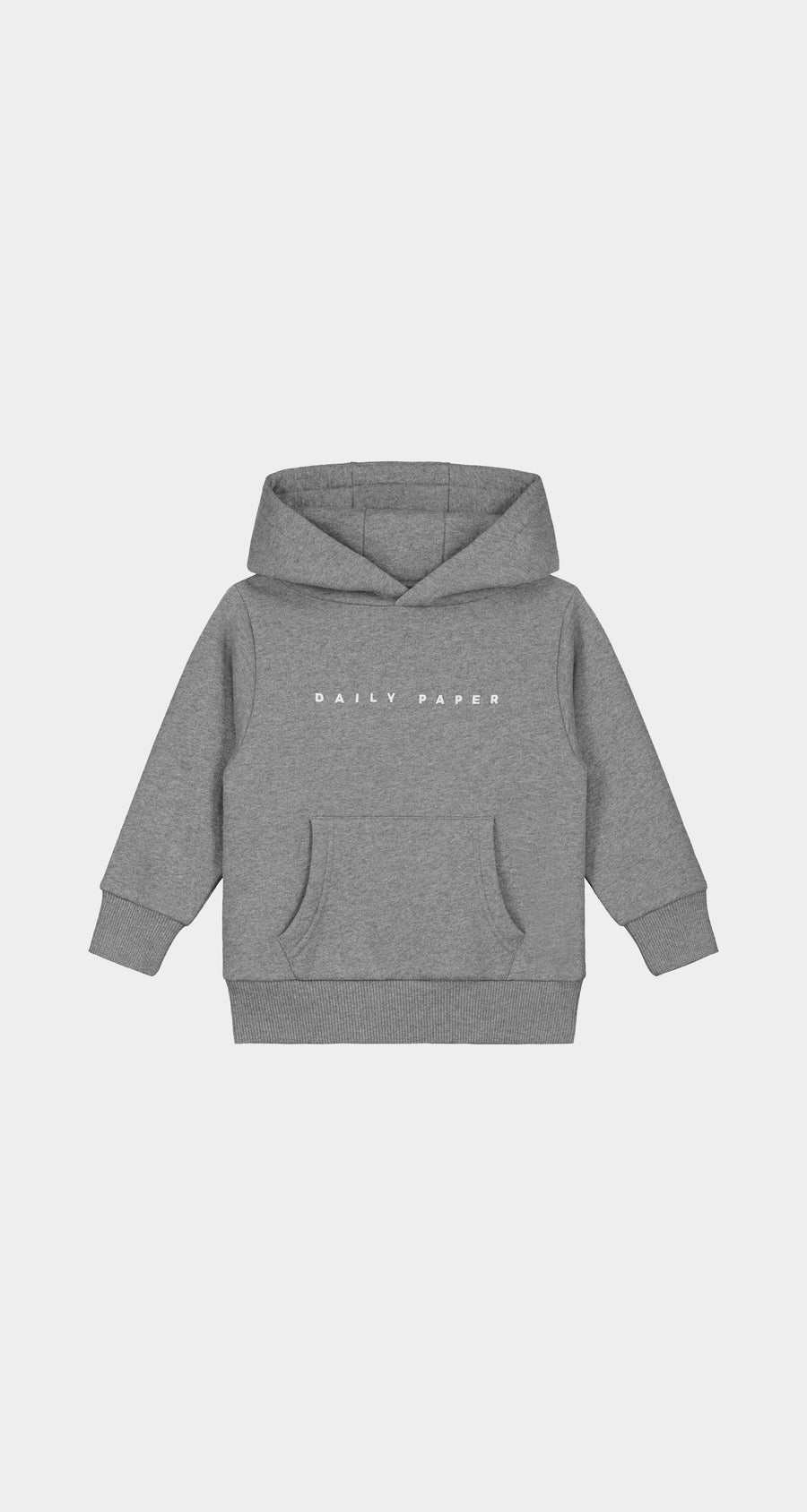 Daily Paper - Grey Kids Alias Hoody - Front