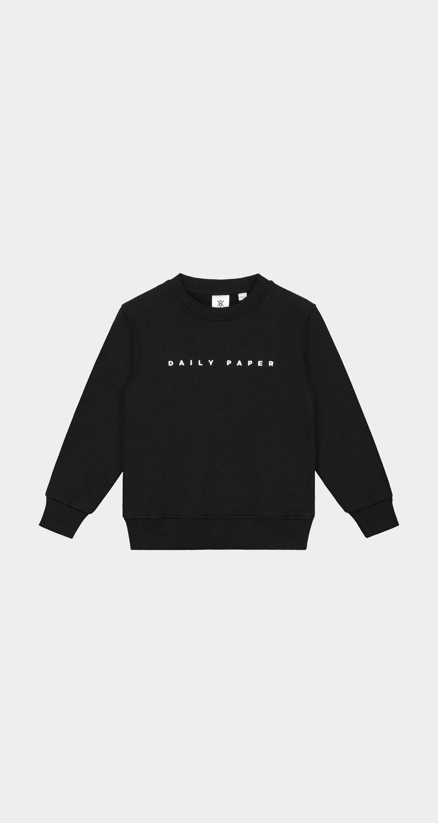 Daily Paper - Black Kids Alias Sweater NEW - Front