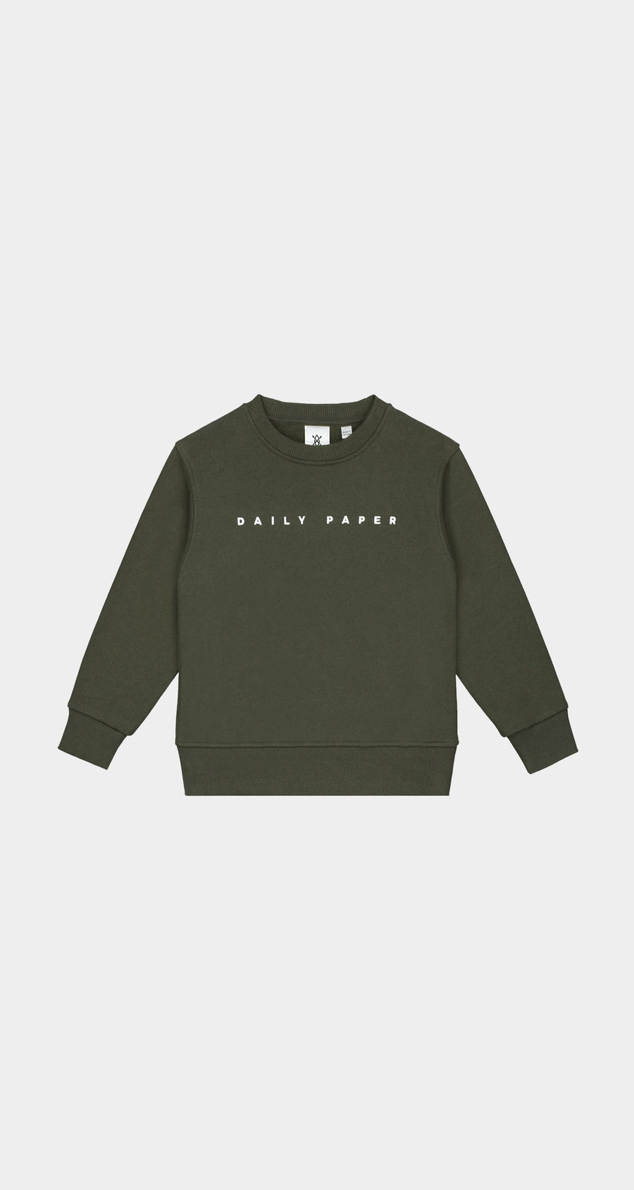 Daily Paper - Forest Green Kids Alias Sweater - Front