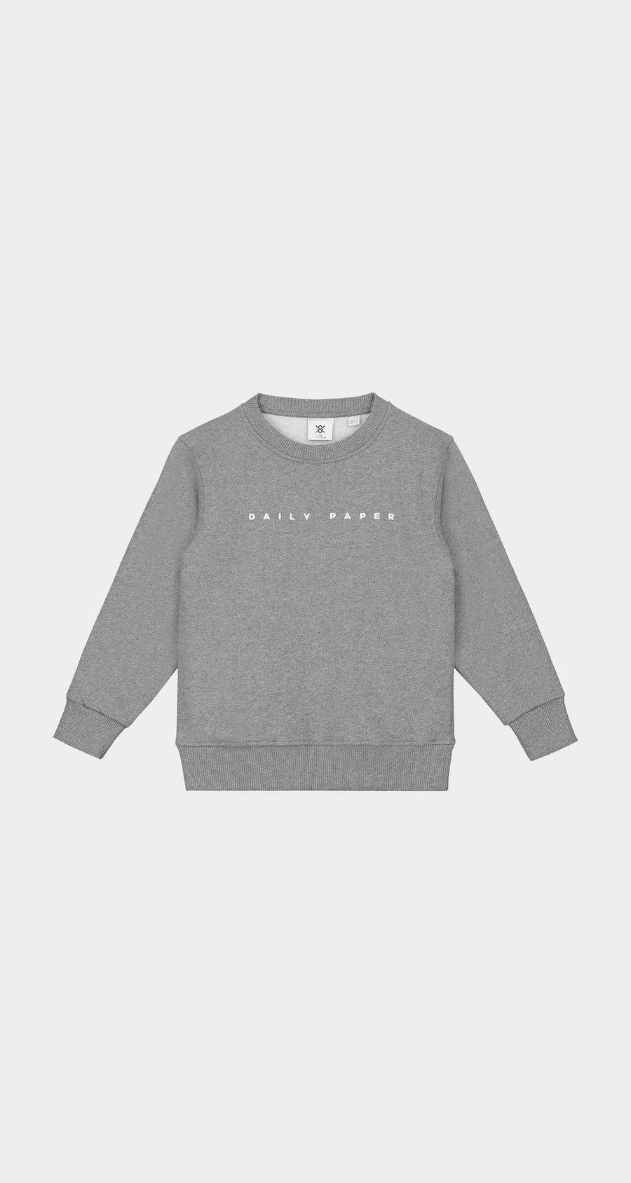 Daily Paper - Grey Kids Alias Sweater NEW - Front