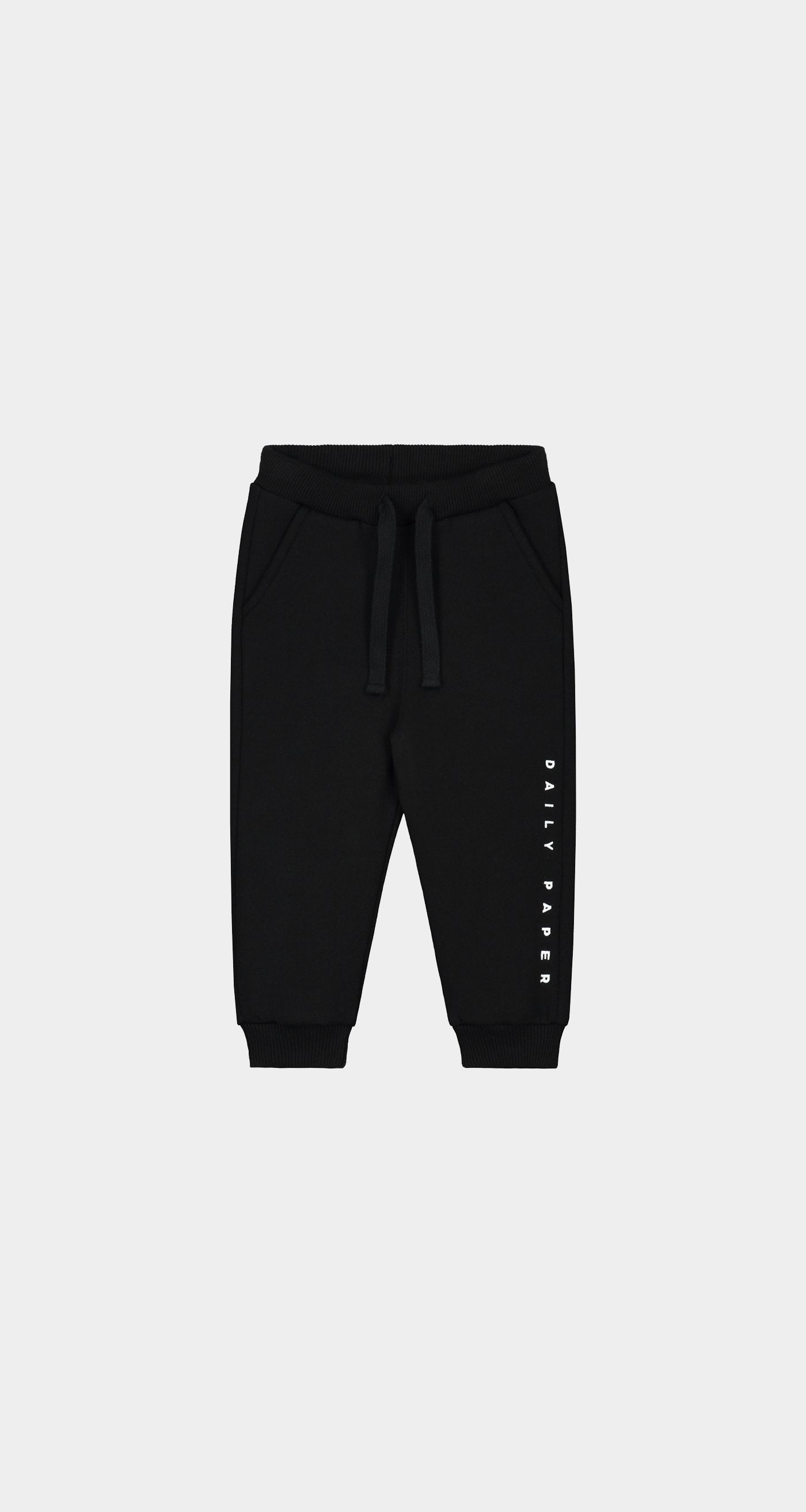 Daily Paper - Black Kids Alias Sweatpants - Front