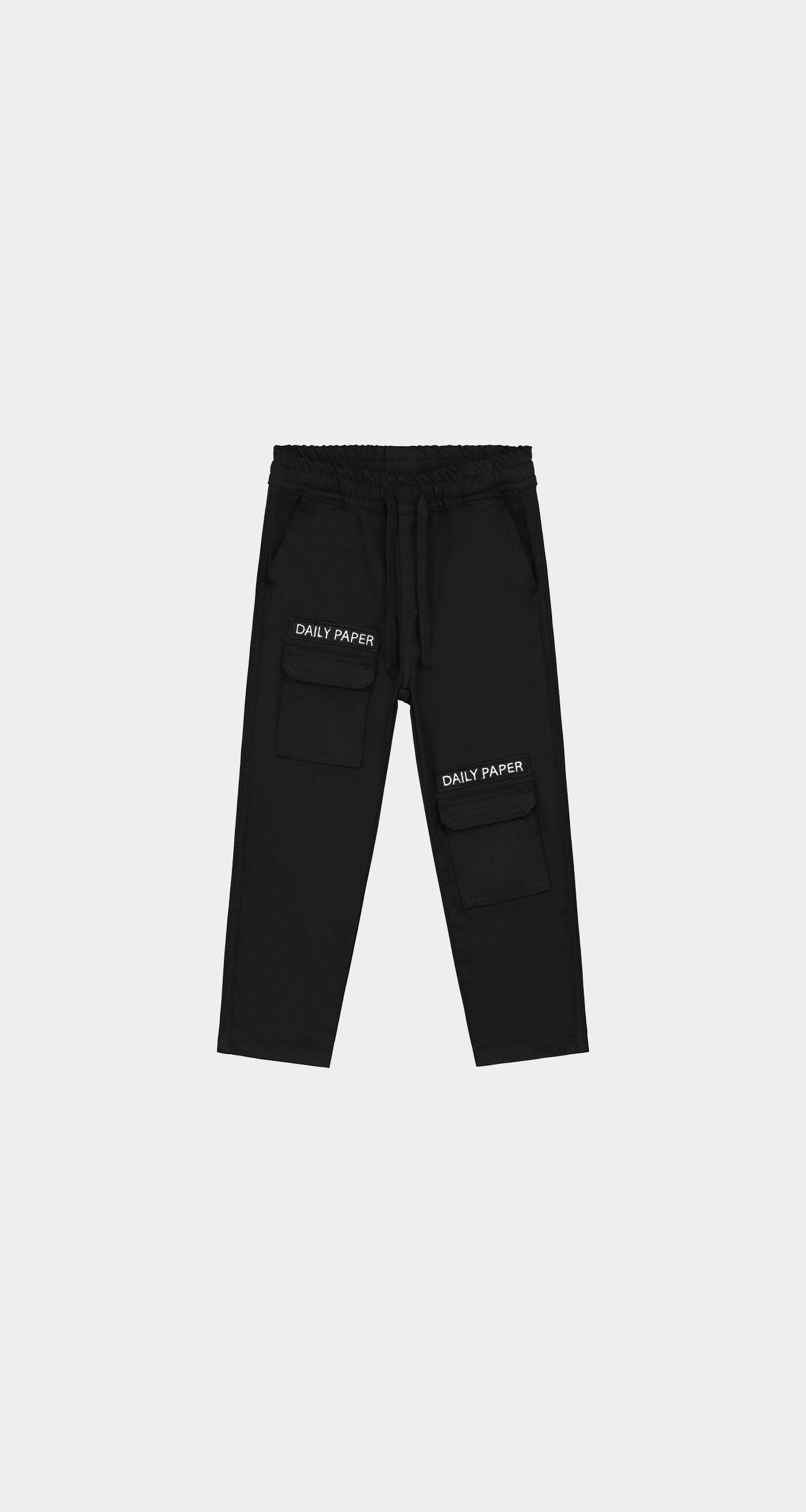 Daily Paper - Black Kids Cargo Pants NEW - Front