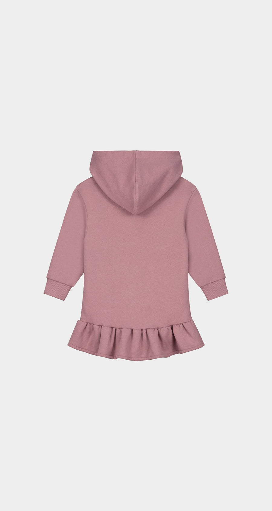 Daily Paper - Mauve Pink Kids Hoodie Dress - Rear