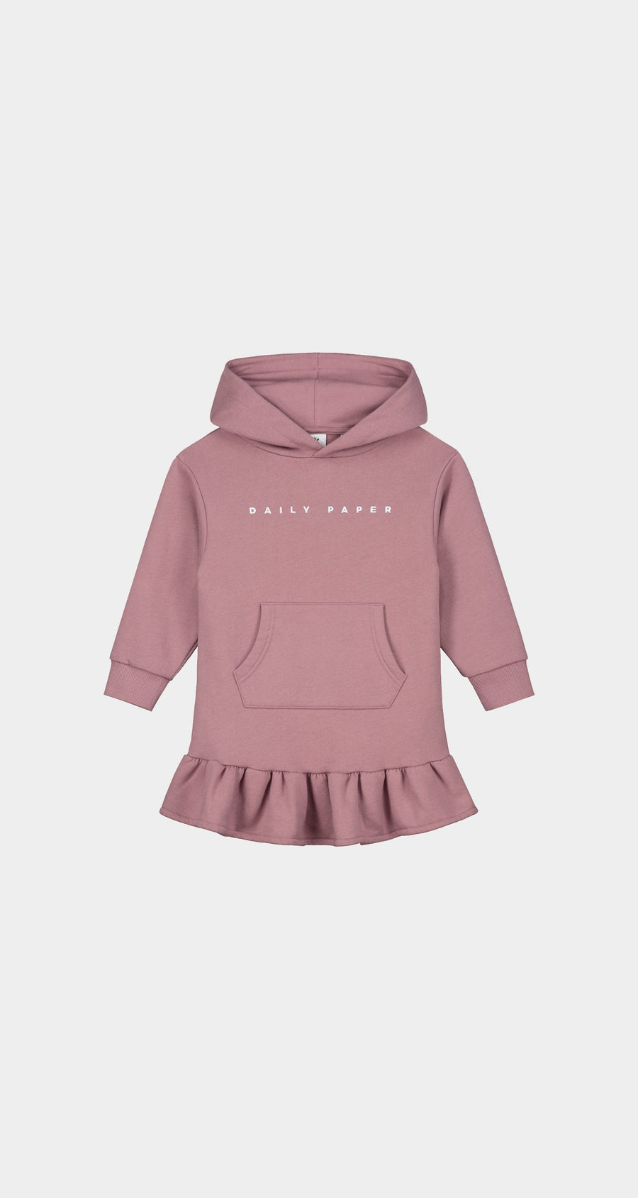 Daily Paper - Mauve Pink Kids Hoodie Dress - Front