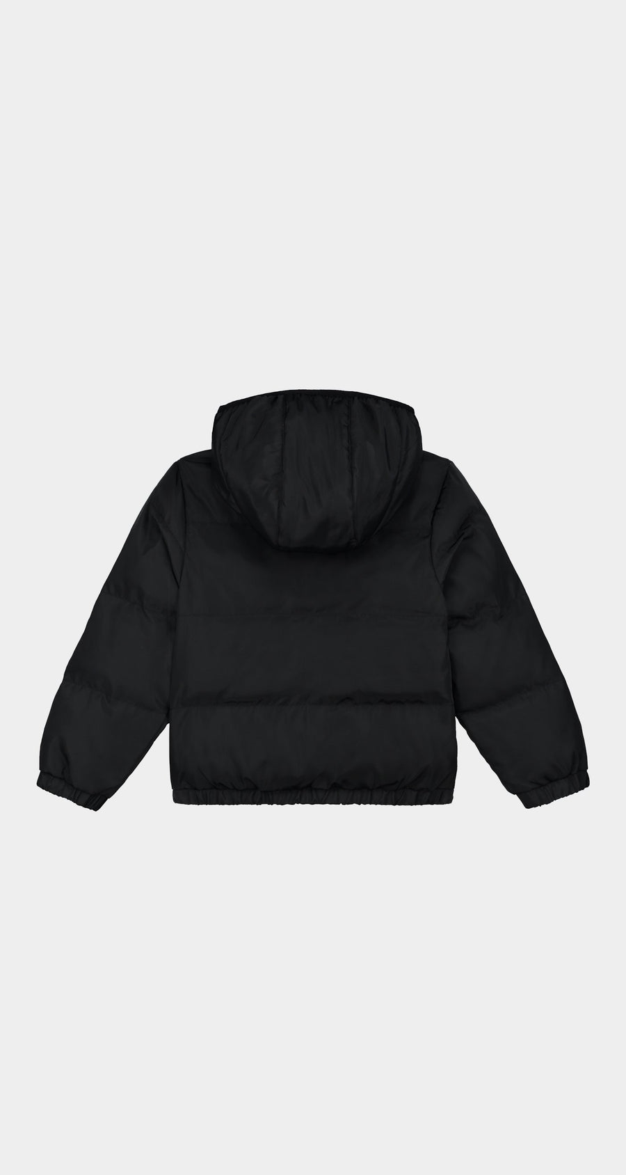 Daily Paper - Black Kids Puffer Jacket - Rear