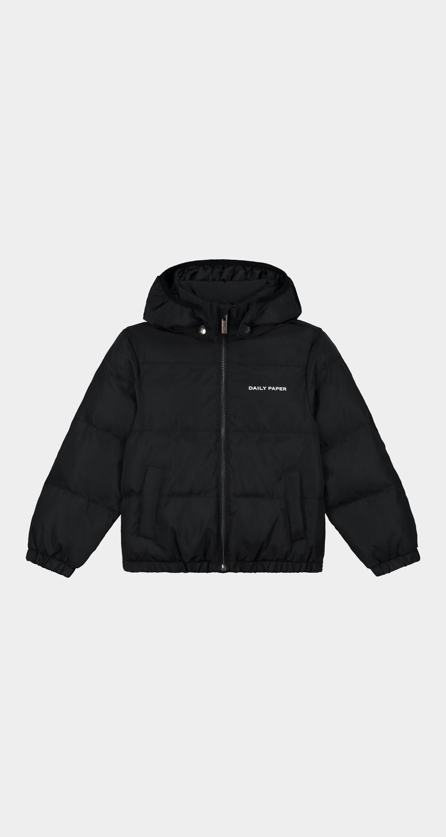 Daily Paper - Black Kids Puffer Jacket - Front