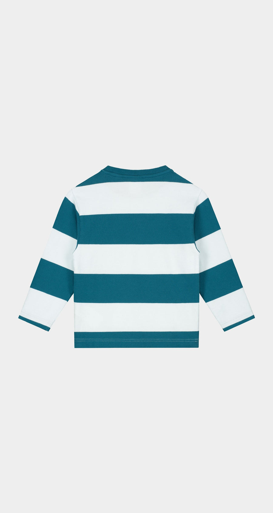 Daily Paper - Ink Blue Kids Striped Longsleeve - Rear