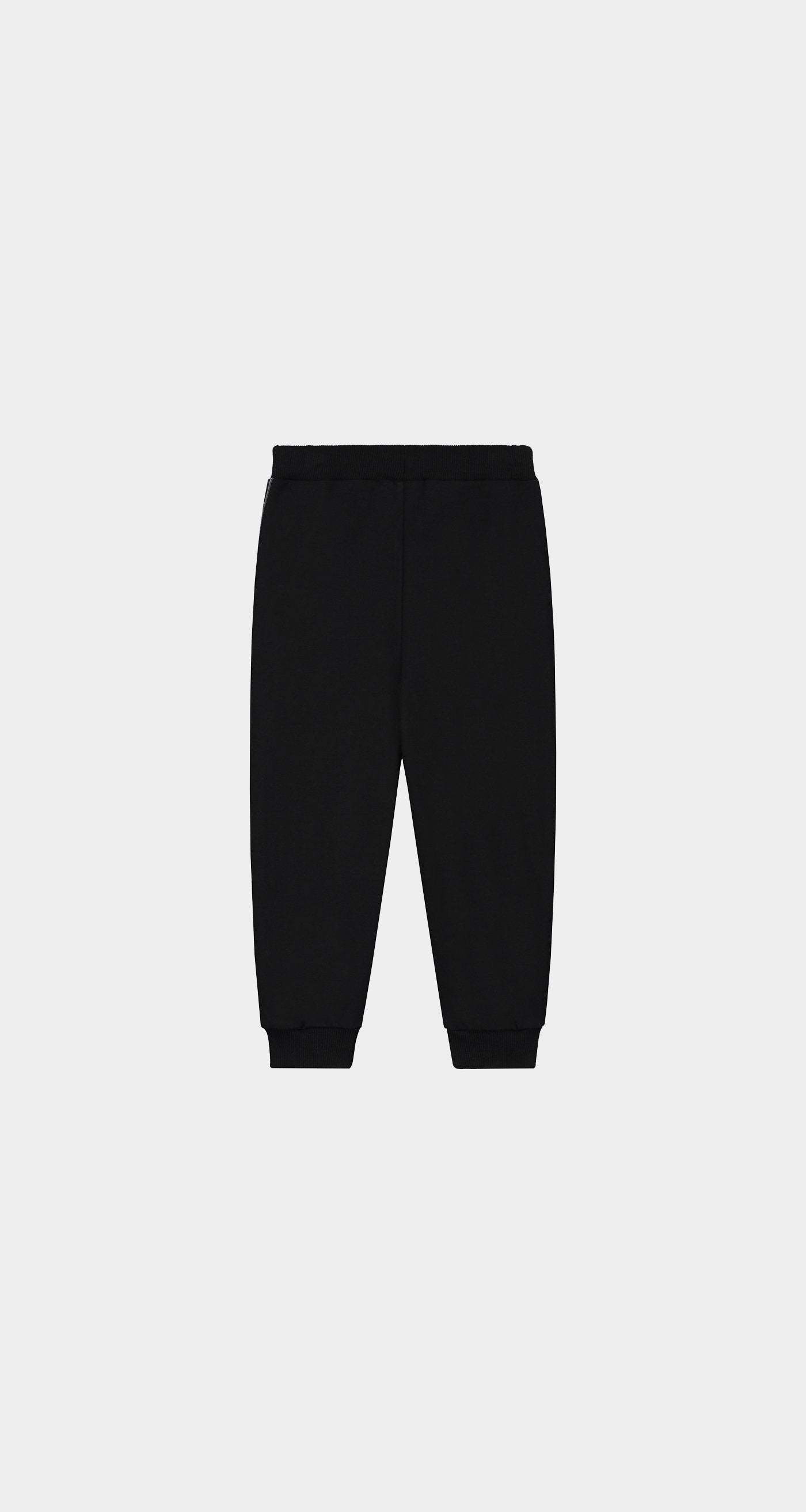 Daily Paper - Black Kids Tape Logo Pants - Rear