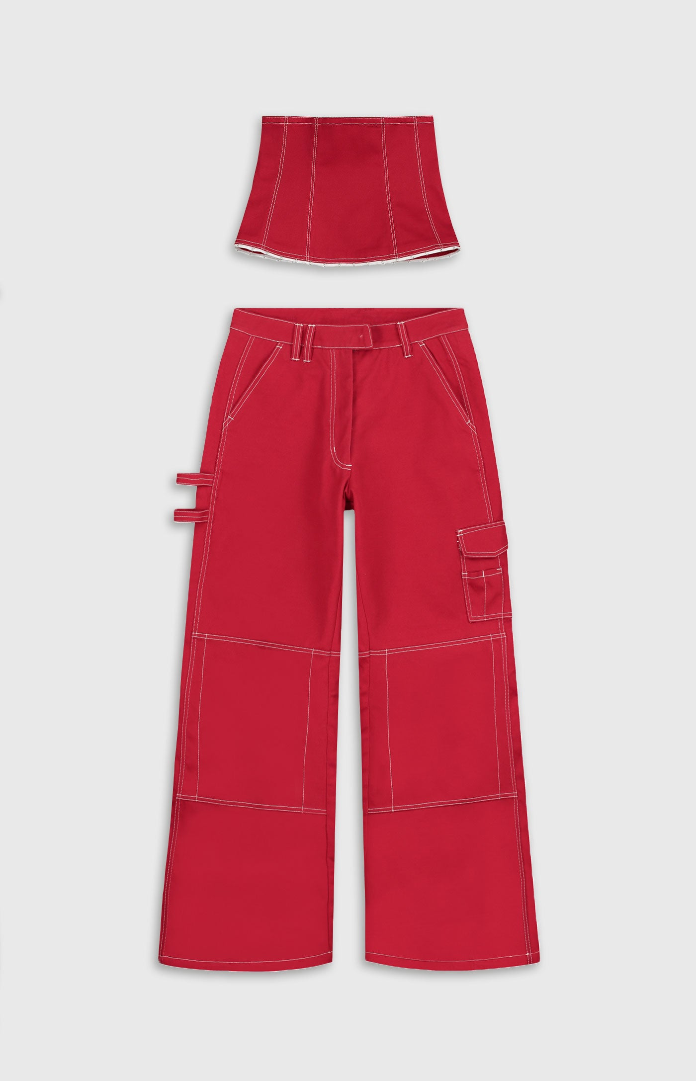 Daily Paper - Red Femma Pants Women