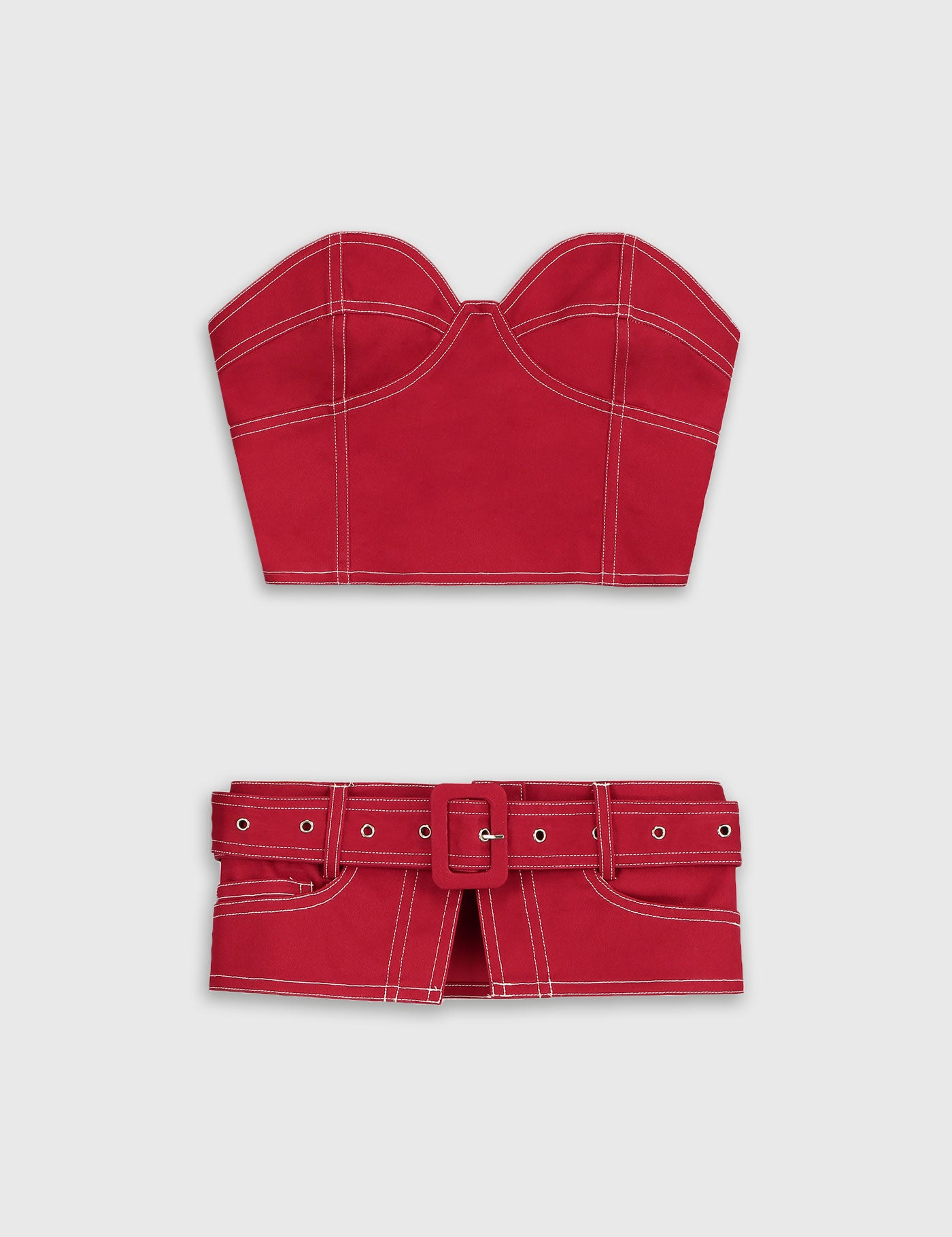 Daily Paper - Red Fena Top Women