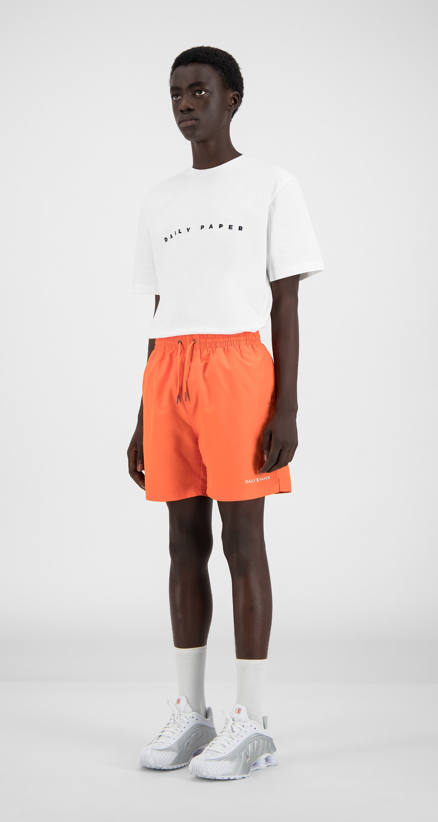 Daily Paper - Flame Orange Water Activated Swimshorts - Men
