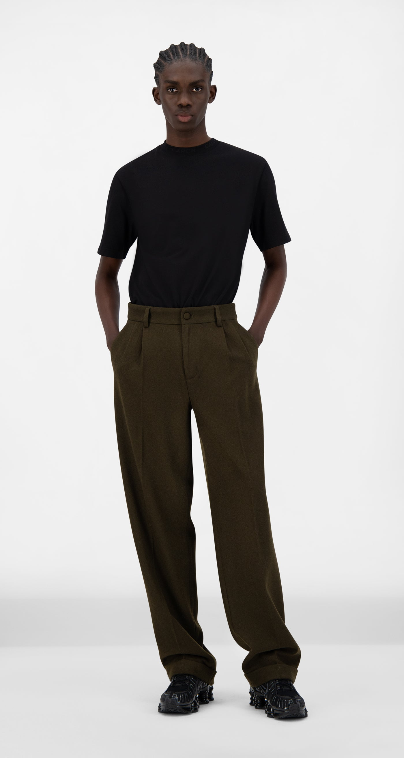 Daily Paper - Forest Brown Esuit Pants - Men