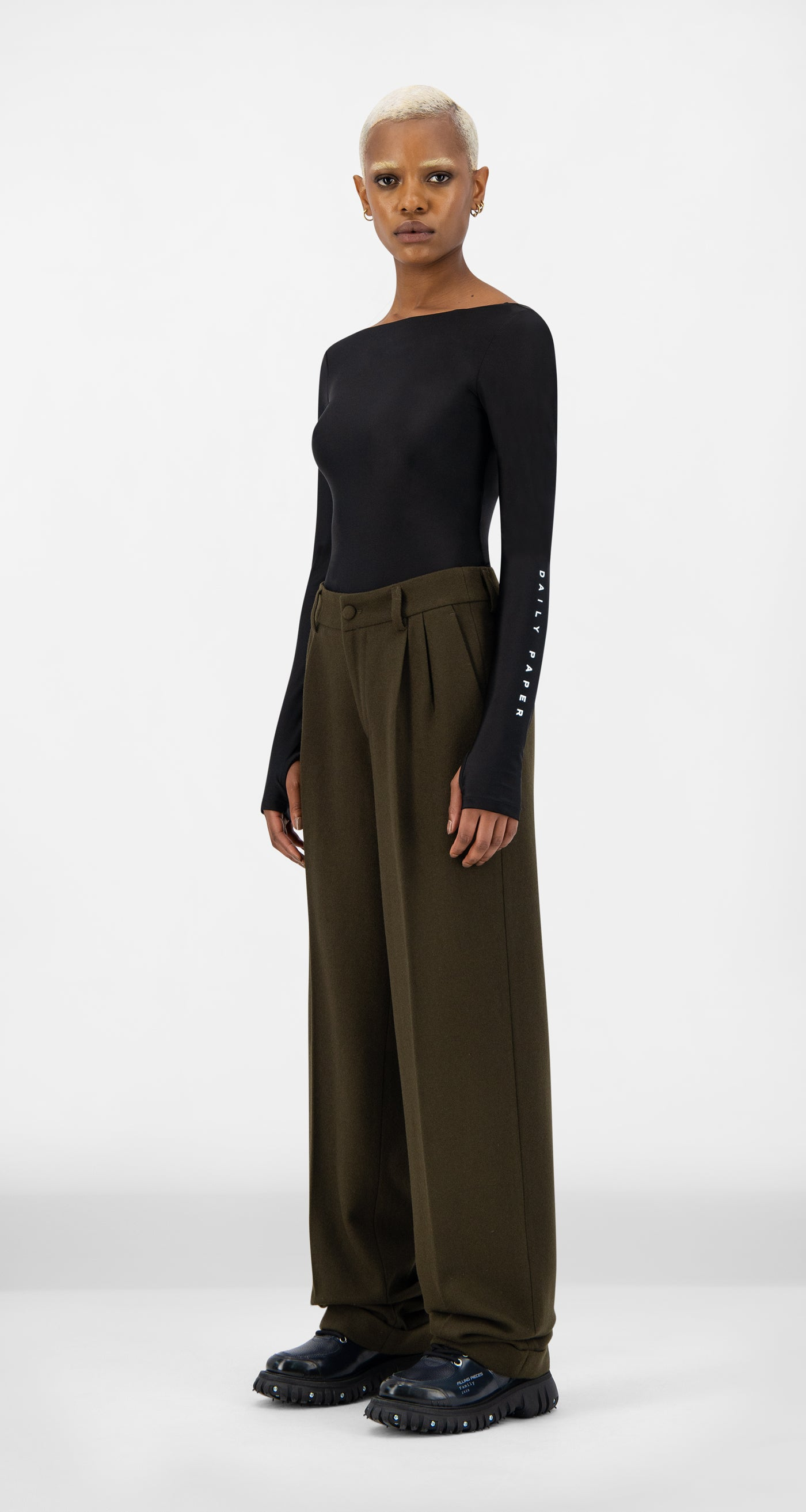 Daily Paper - Forest Brown Esuit Pants - Women