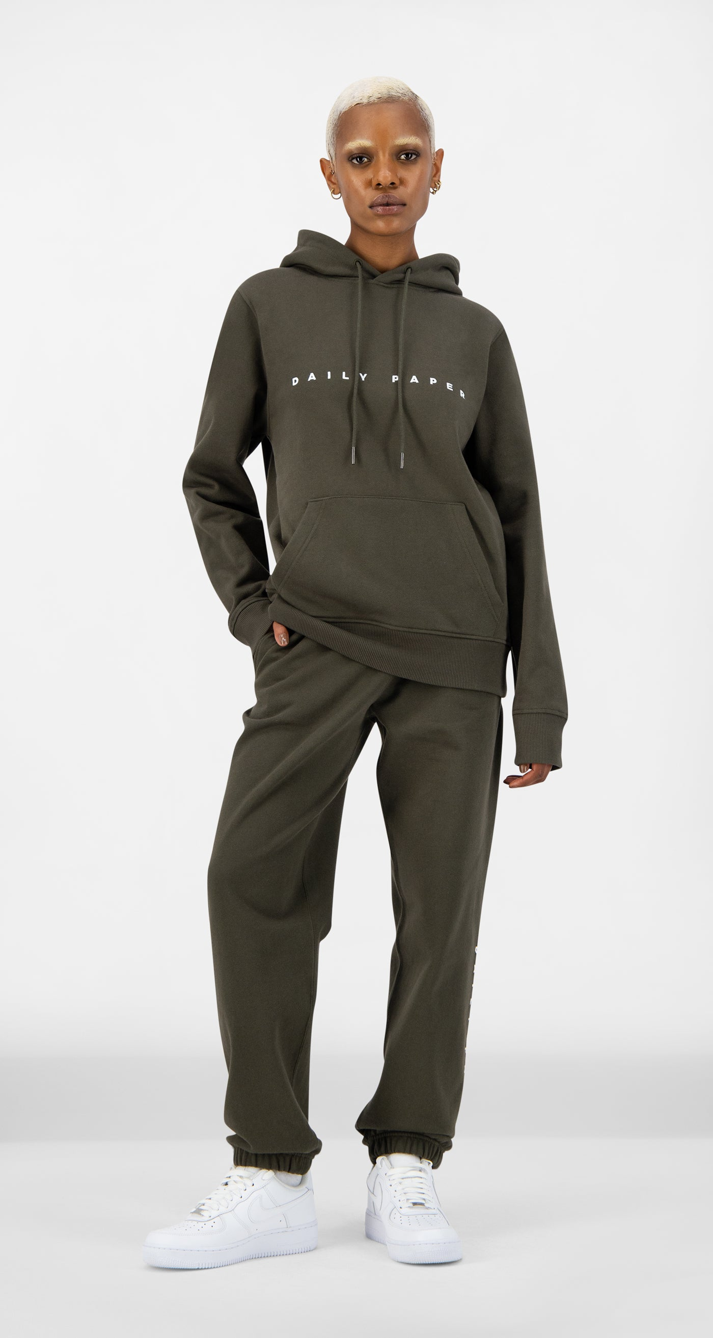 Daily Paper - Forest Green Alias Hoody - Women