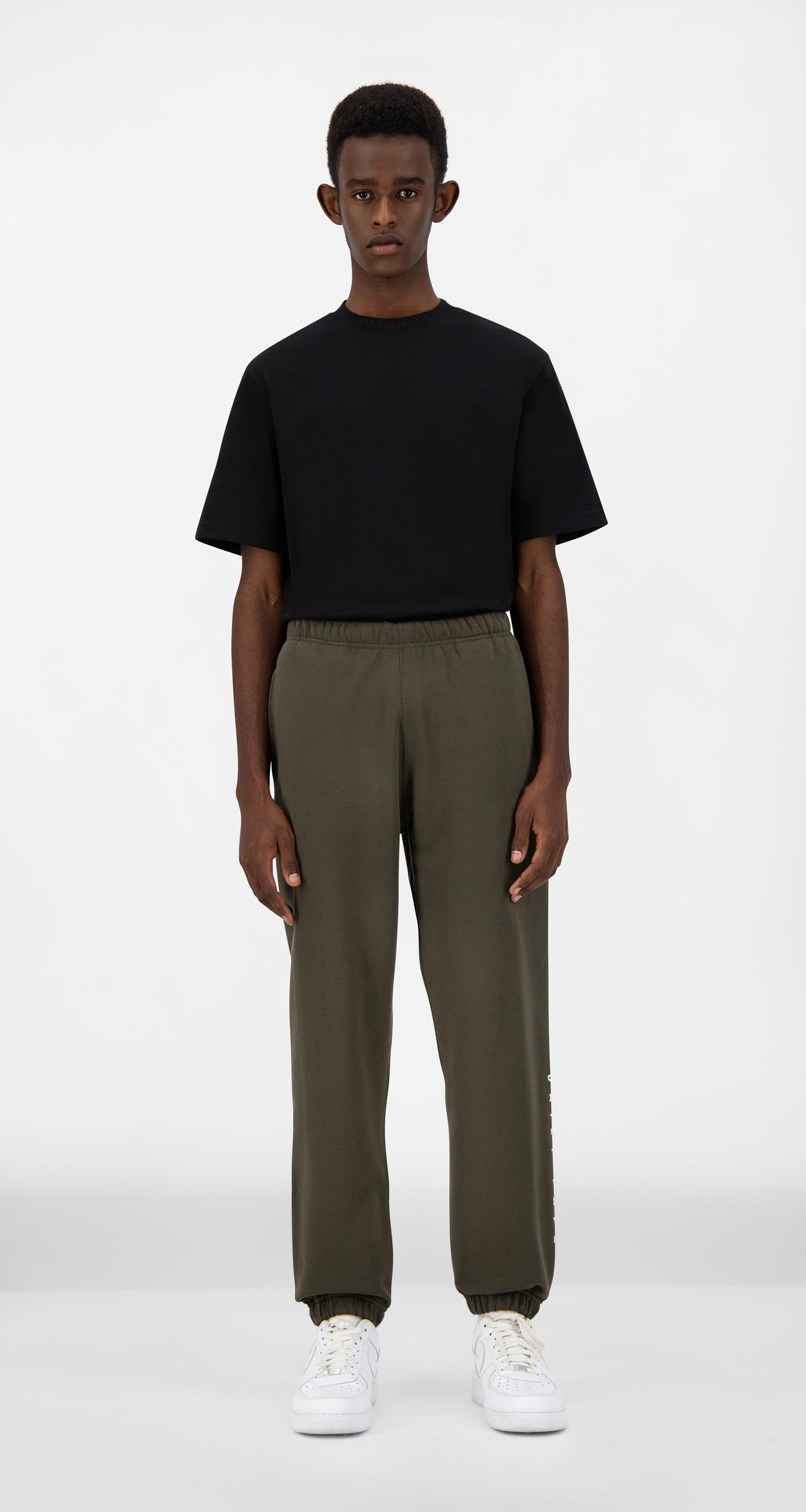 Daily Paper - Forest Green Alias Track Pants - Men Front