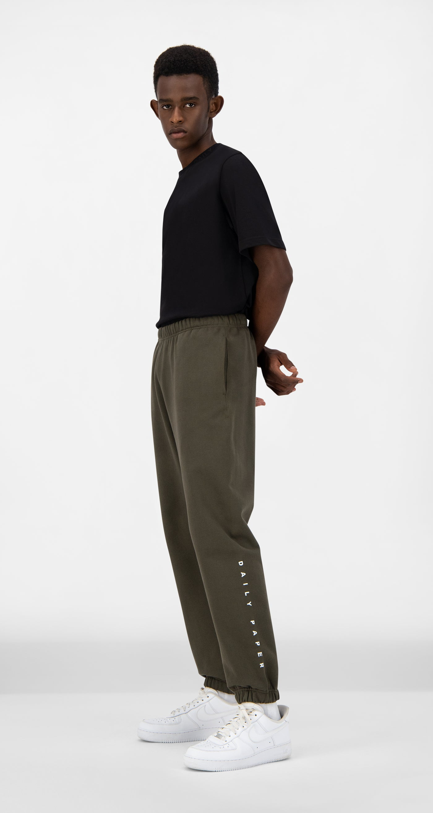 Daily Paper - Forest Green Alias Track Pants - Men