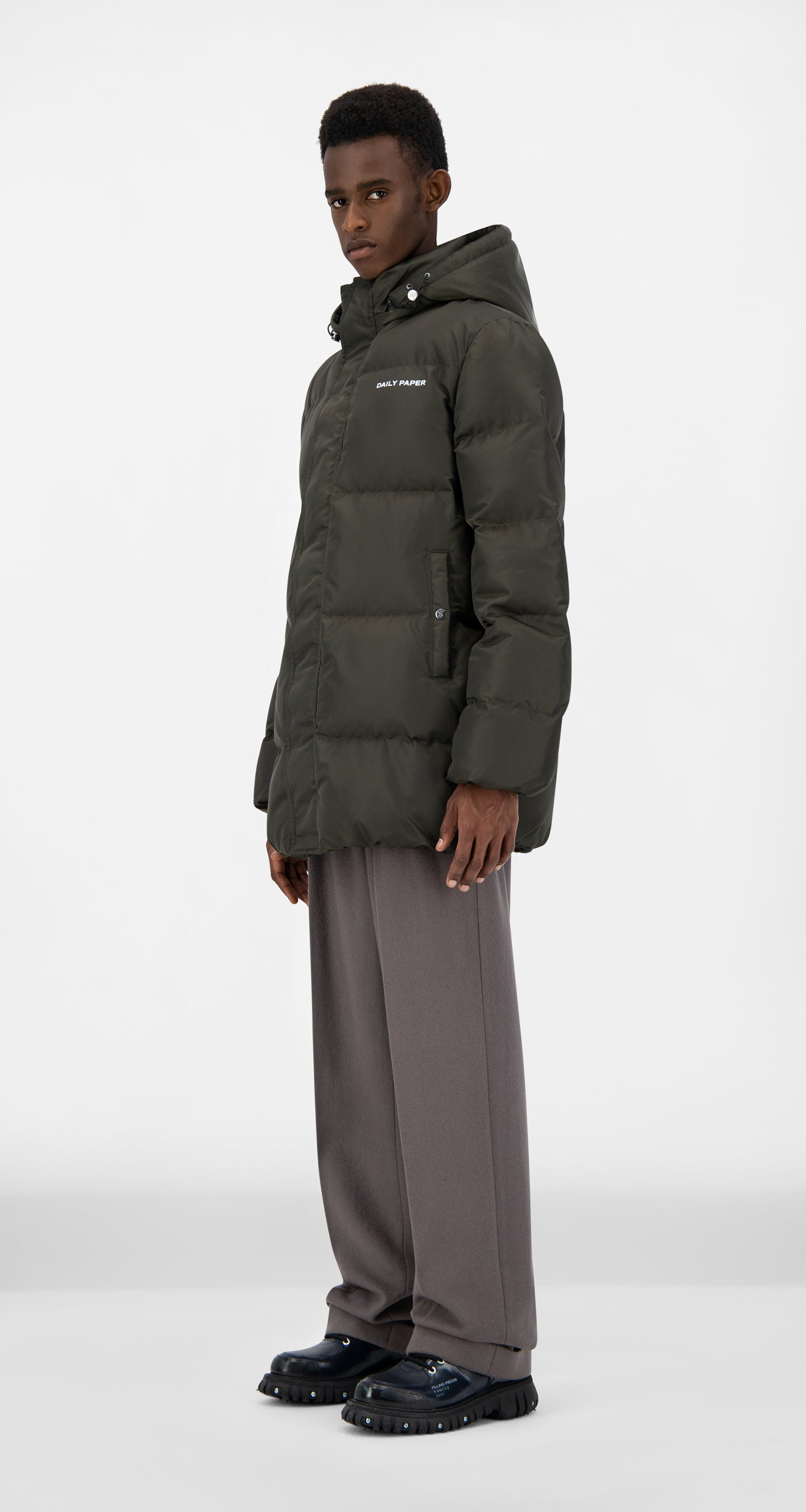 Daily Paper - Forest Green Epuffa Mid Jacket - Men
