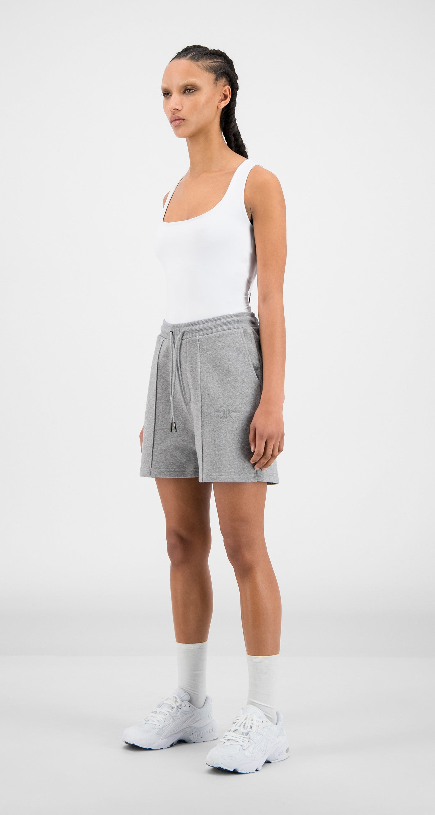 Daily Paper - Grey Hifa Shorts - Women