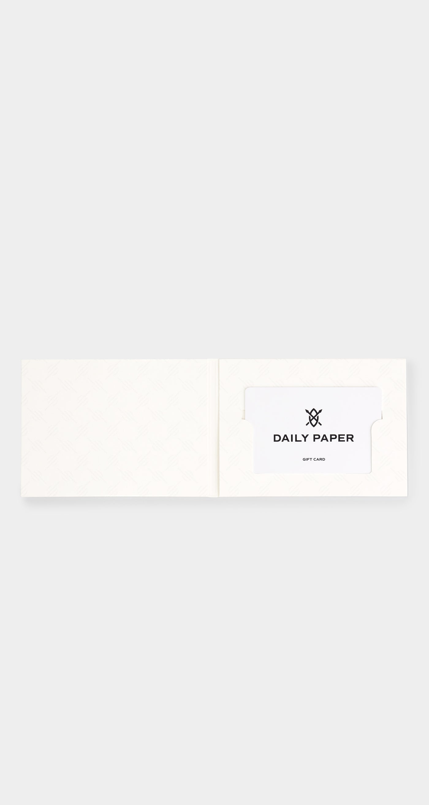 Daily Paper - Gift Card - Rear