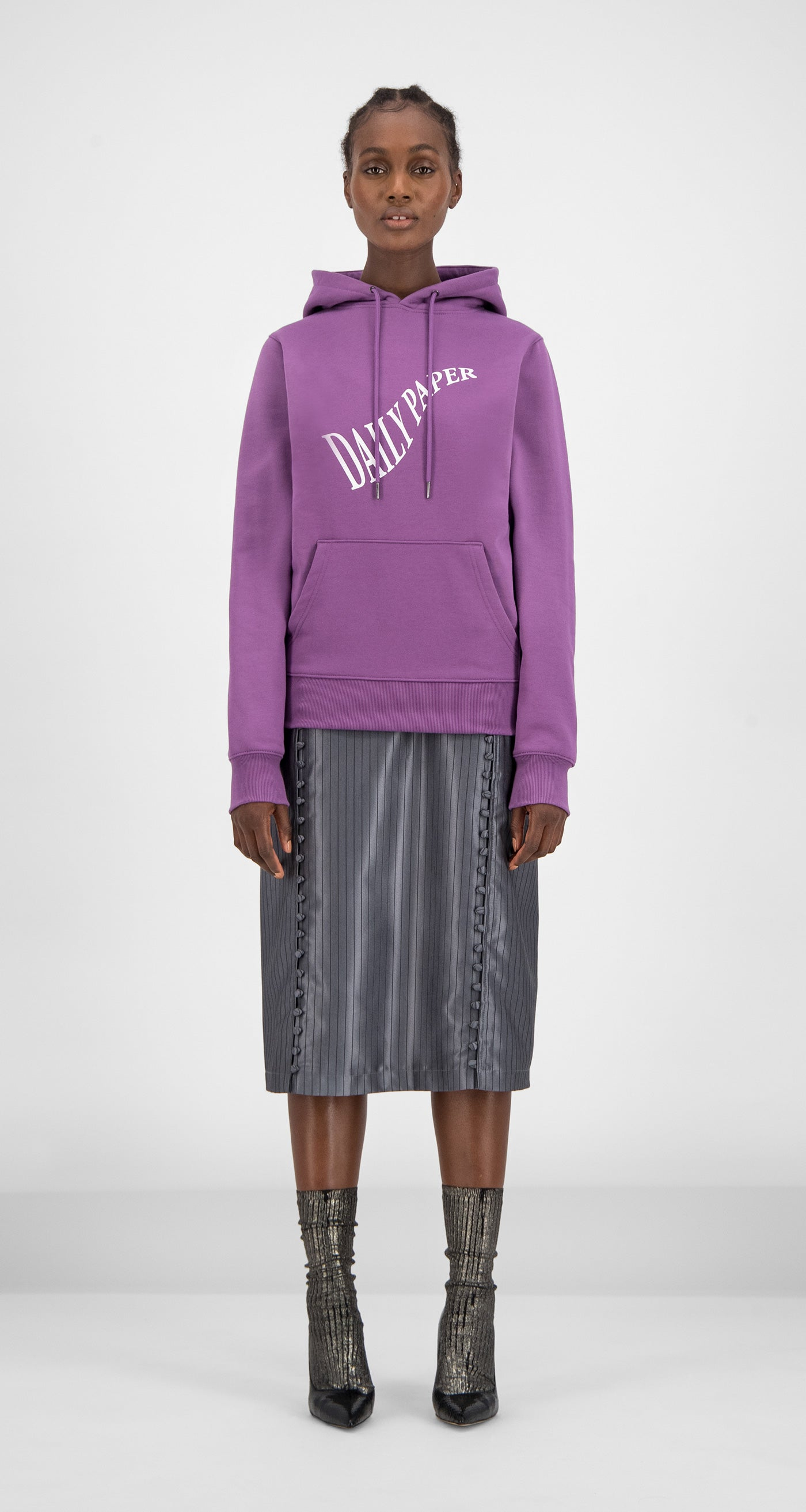 Daily Paper - Grape Gacrush Hoody Women