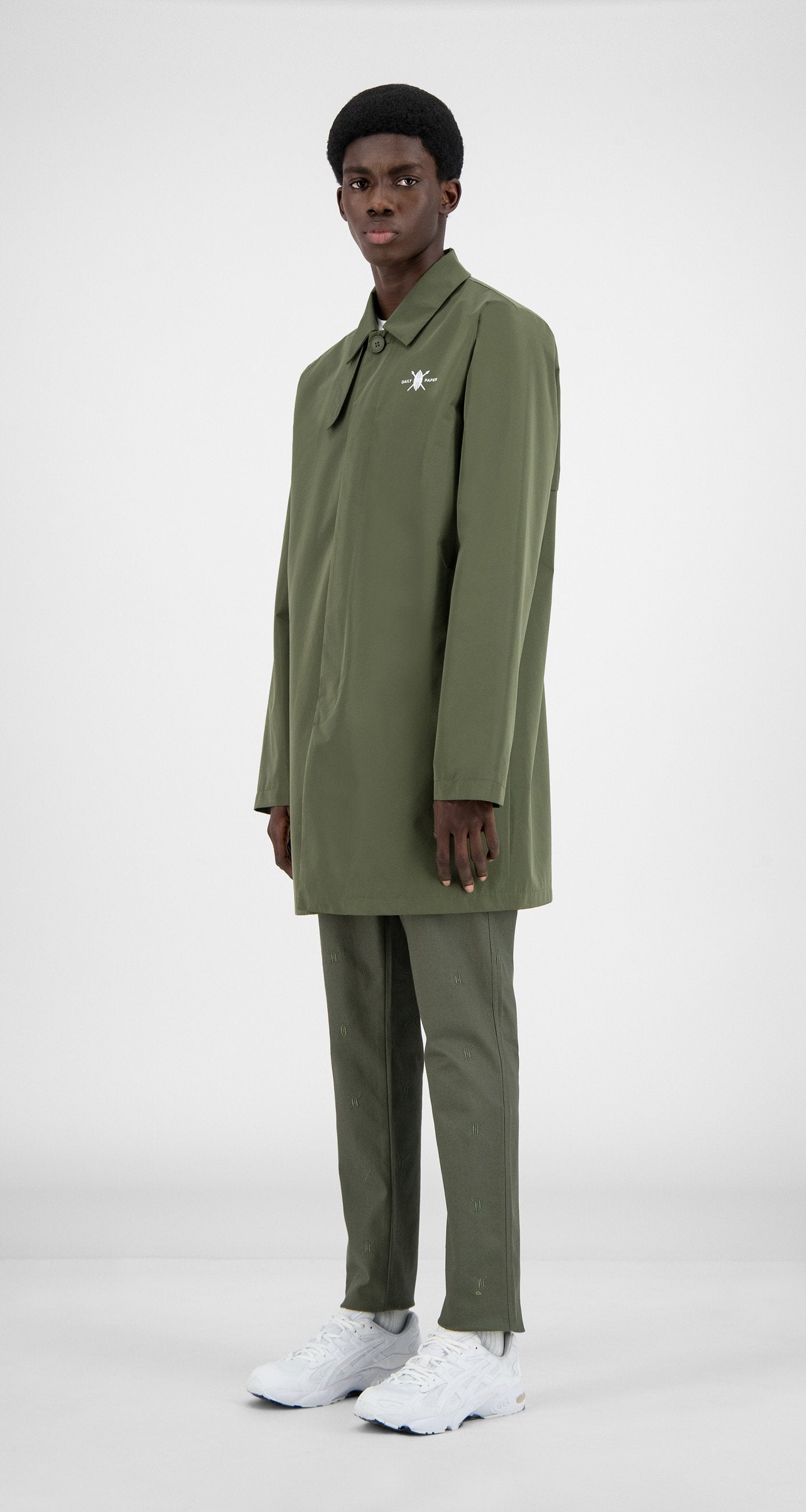 Daily Paper - Grape Leaf Green Amack Jacket - Men