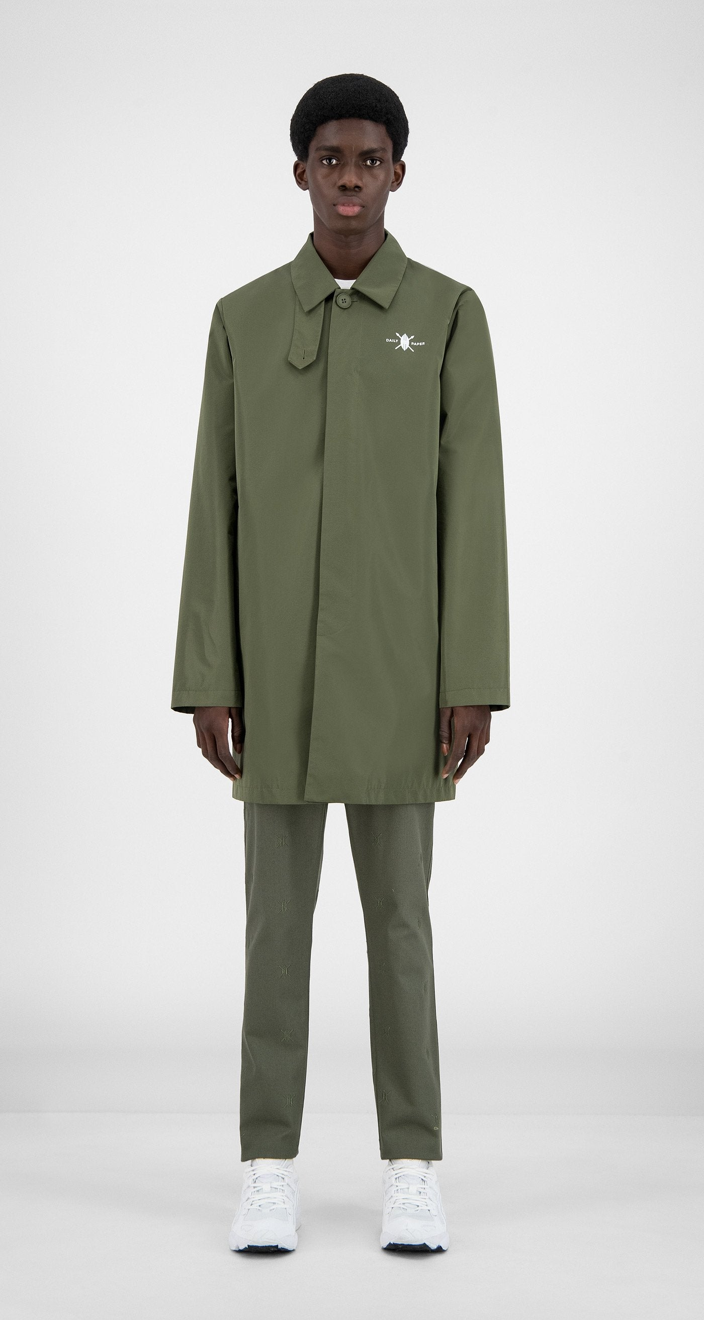 Daily Paper - Grape Leaf Green Amack Jacket - Men Front