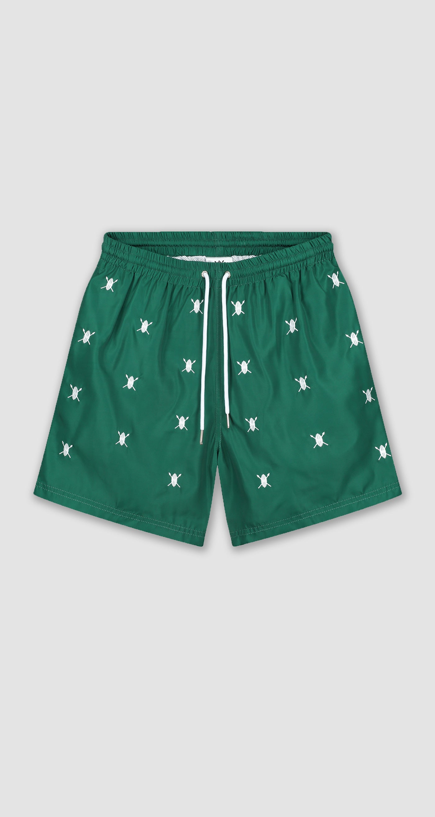 Daily Paper - Green Shield Logo Swimshorts Men