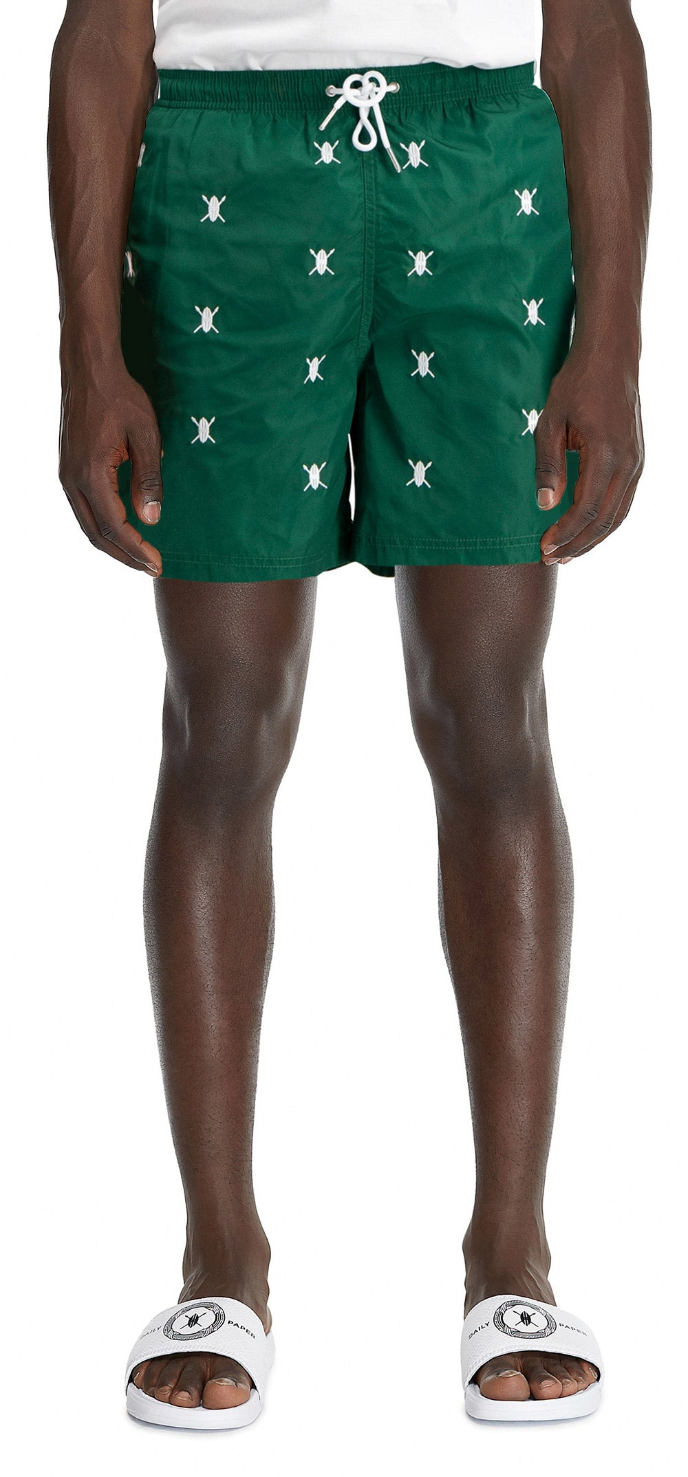 Green Shield Logo Swimshort