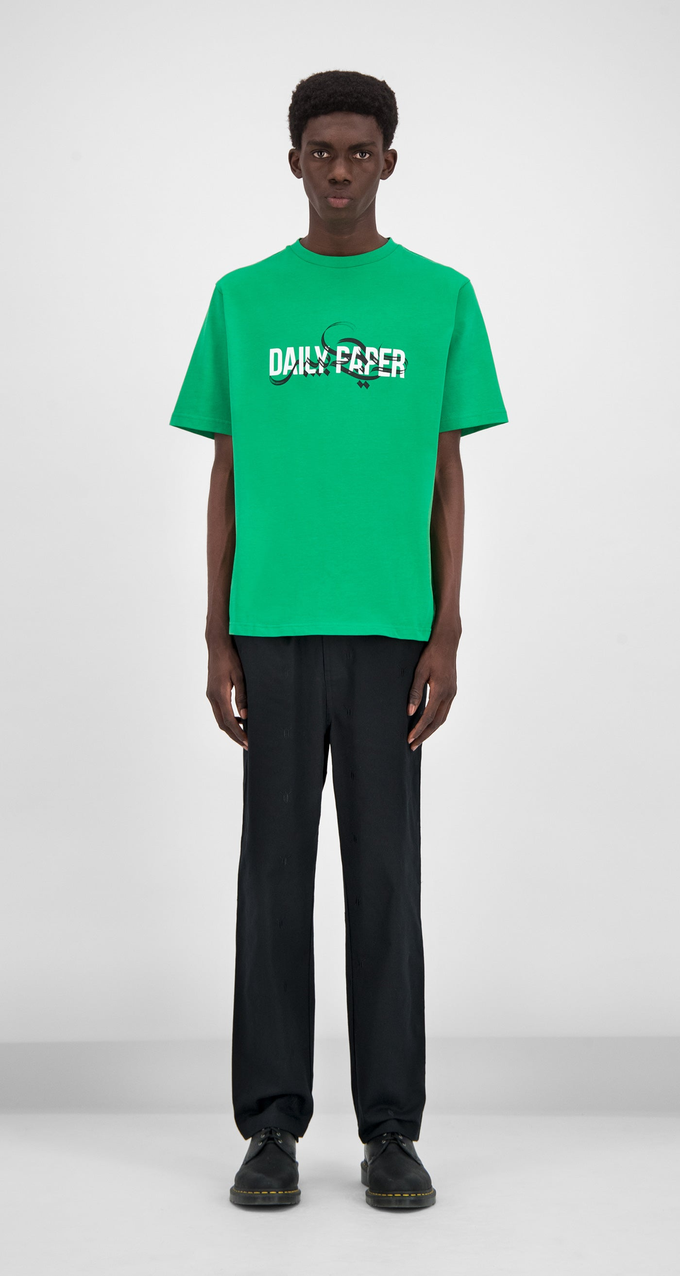 Daily Paper - Green Gorelly T-Shirt Men Front