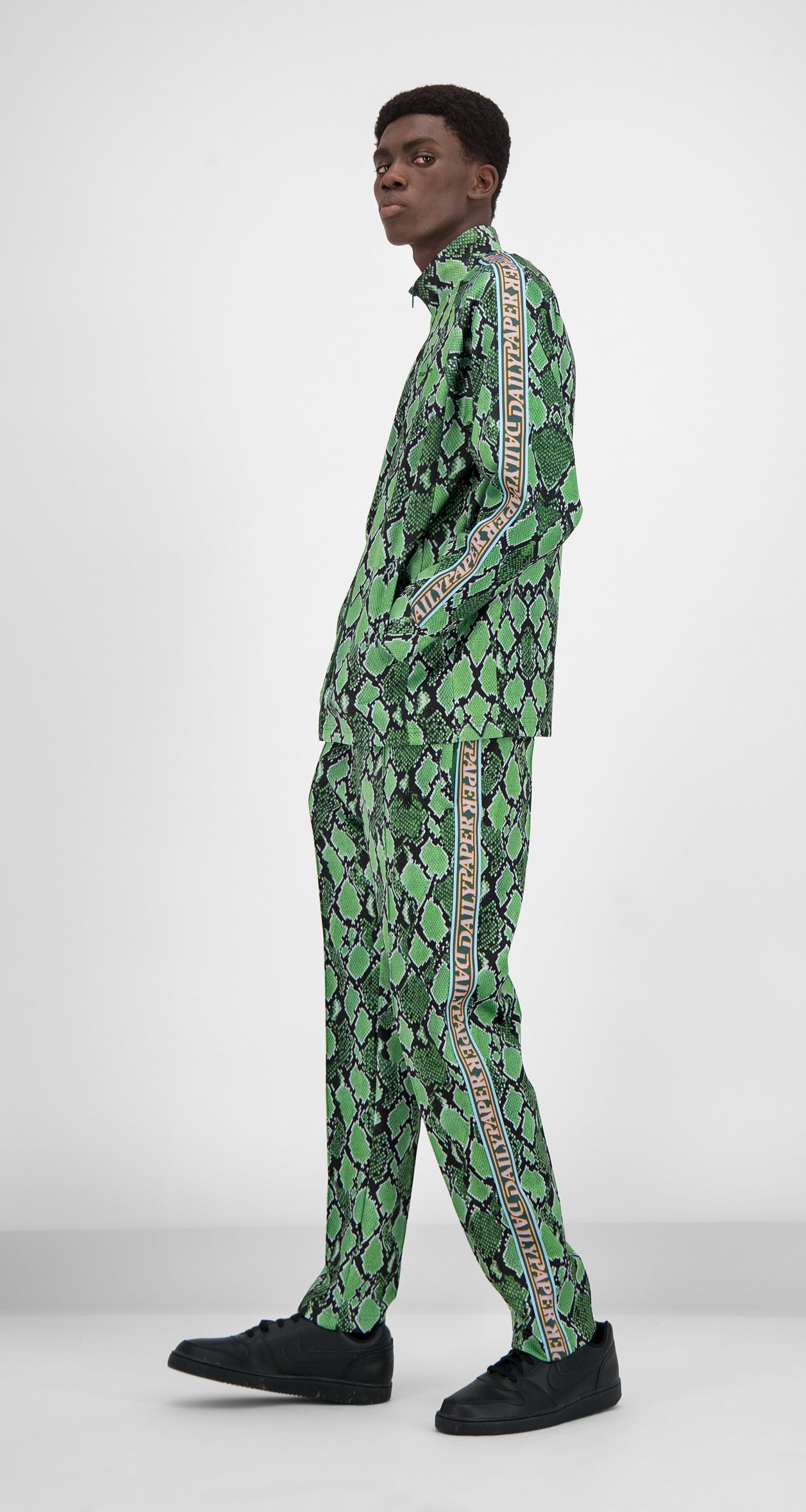 Daily Paper - Green Snake Tapevest Snake Top Men