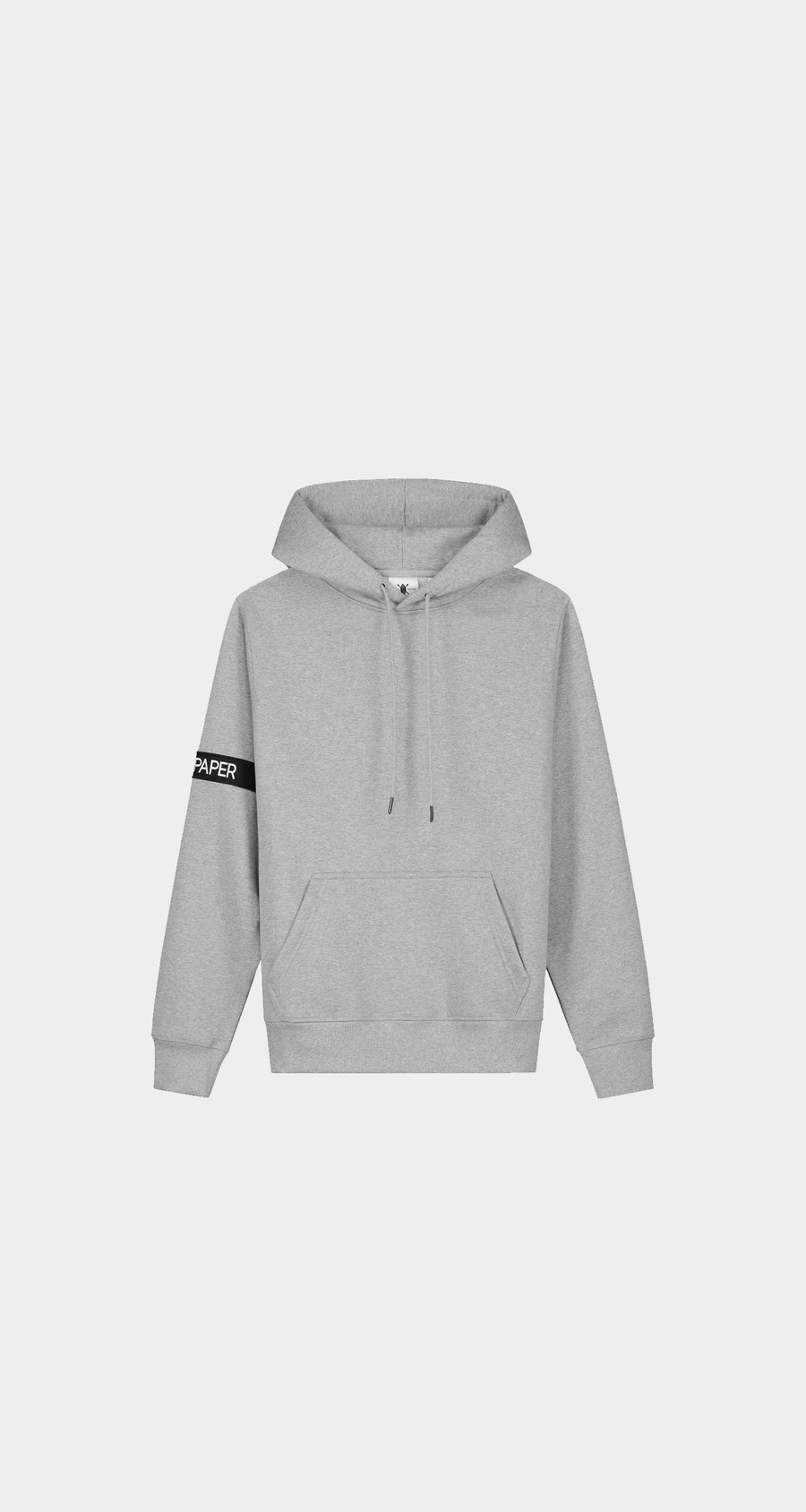 Daily Paper - Grey Captain Hoody Men Front