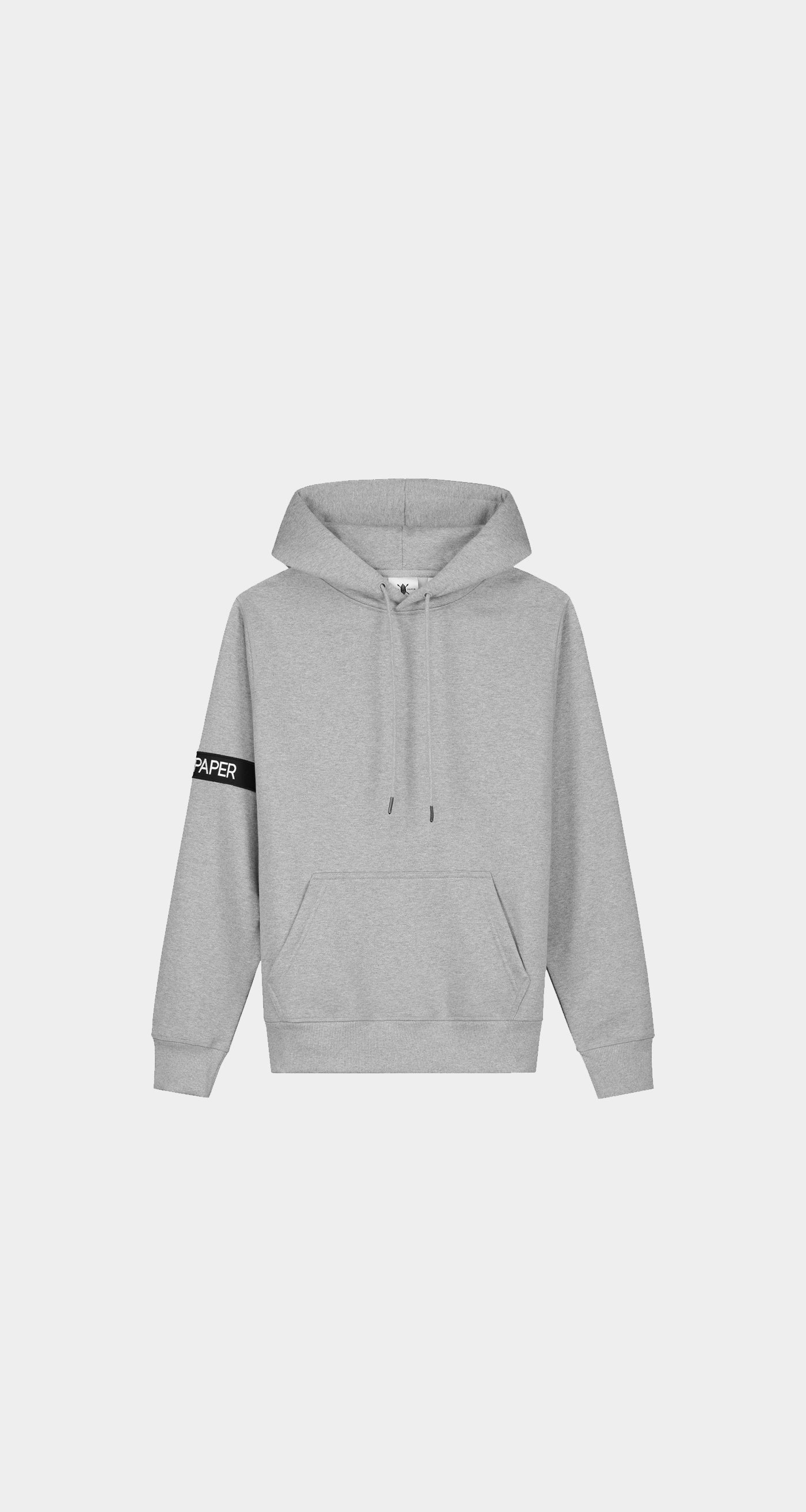 Daily Paper - Grey Captain Hoody Women Front