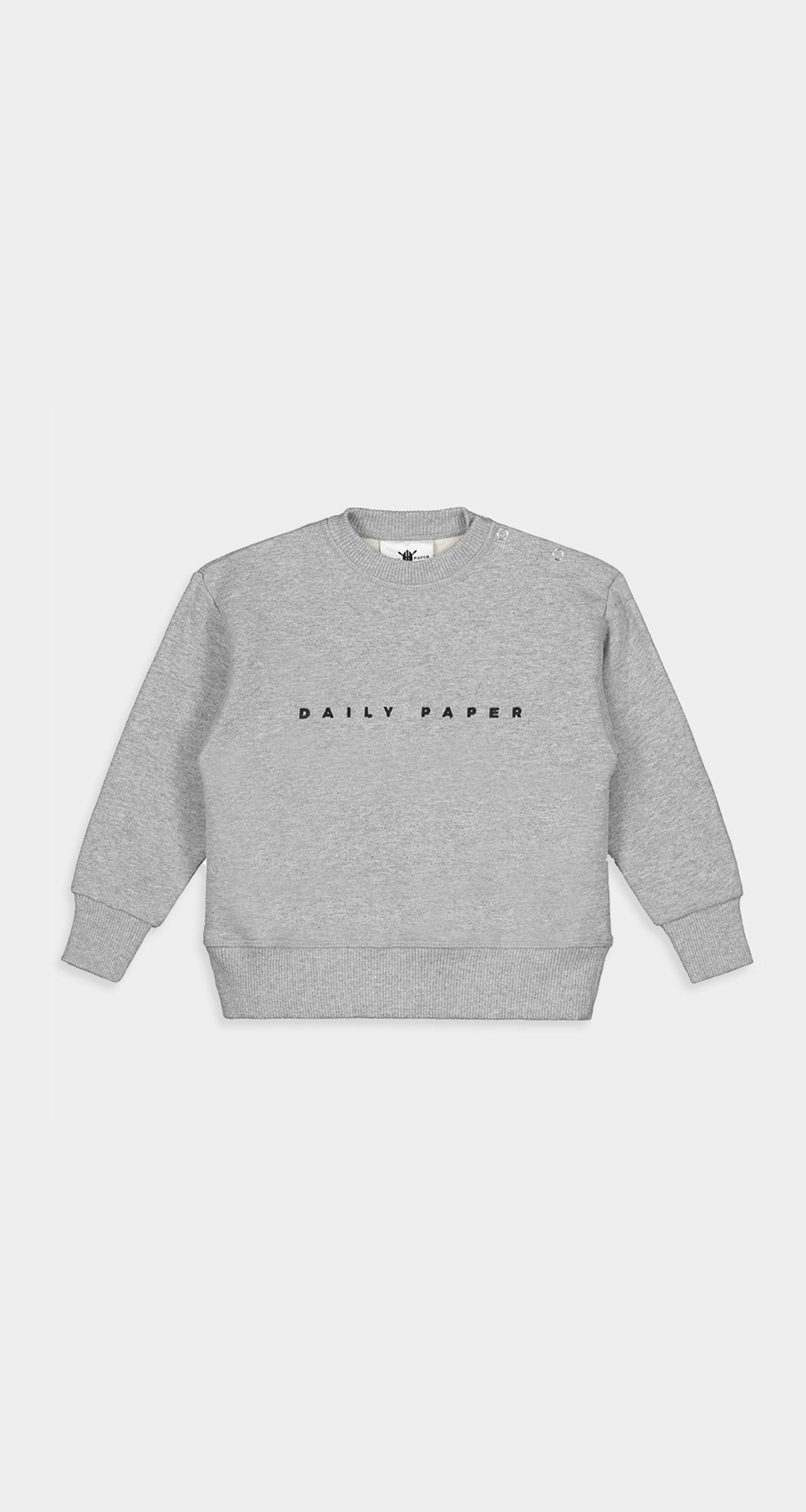 Daily Paper - Grey Kids Alias Sweater Front