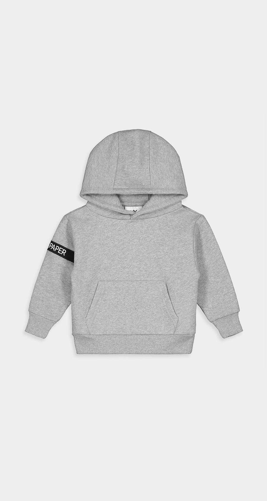 Daily Paper - Grey Kids Captain Hoody Front