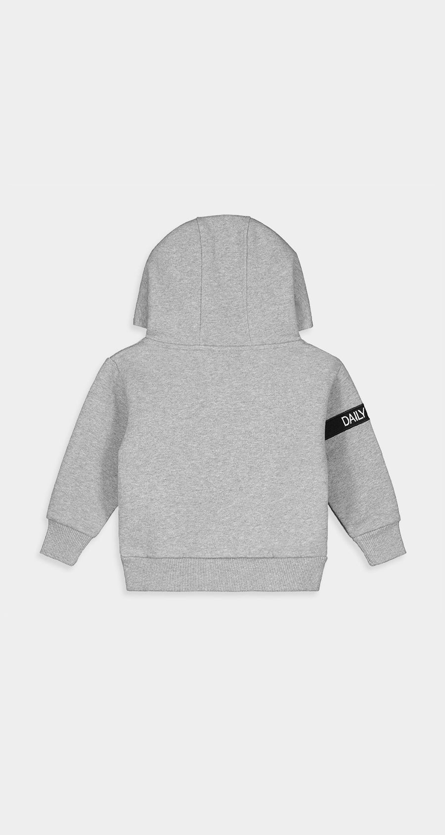 Daily Paper - Grey Kids Captain Hoody Rear